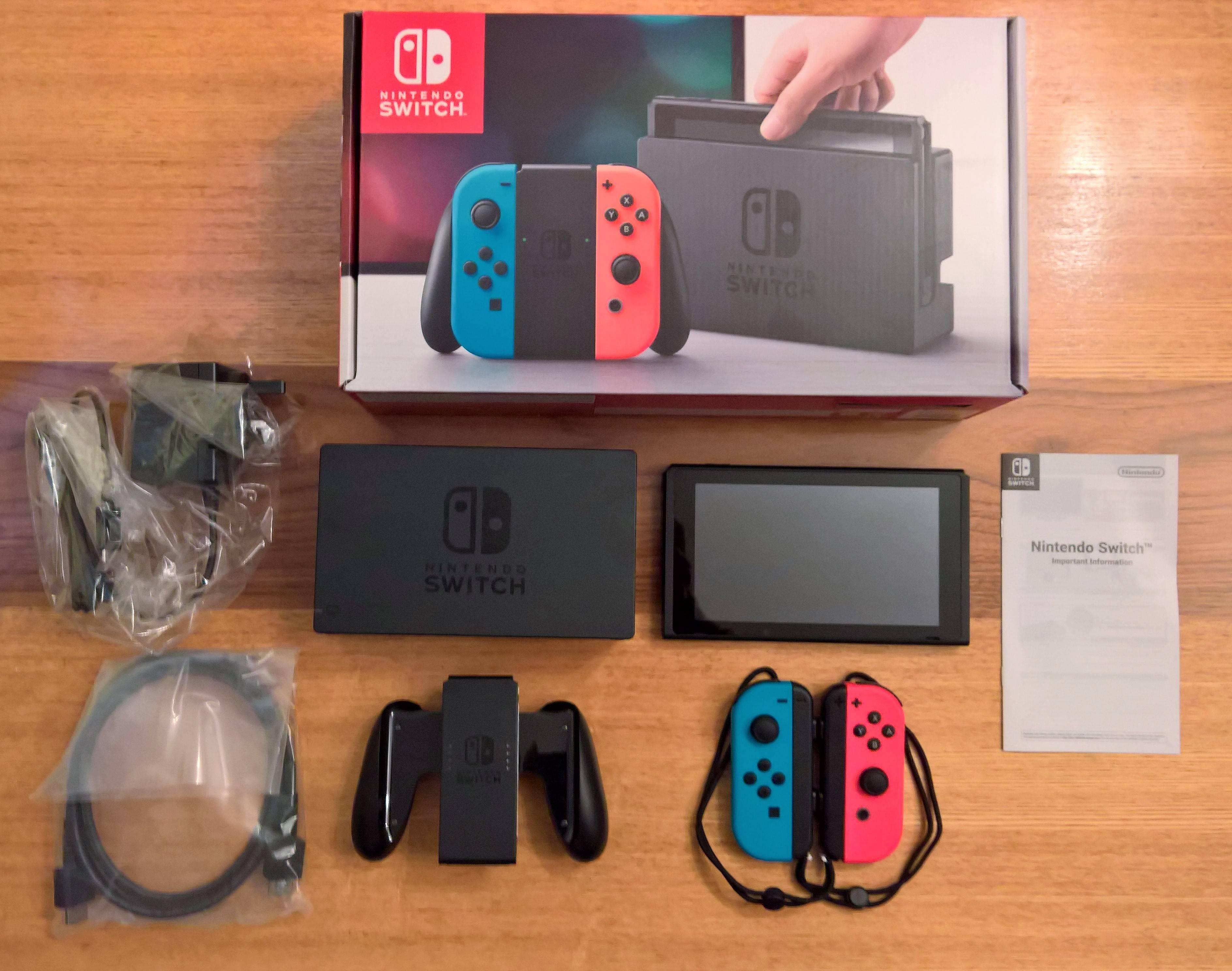 Unboxing Nintendo Switch – What's In The Box? – Ar12gaming Inside Switch Console Tables (View 13 of 30)
