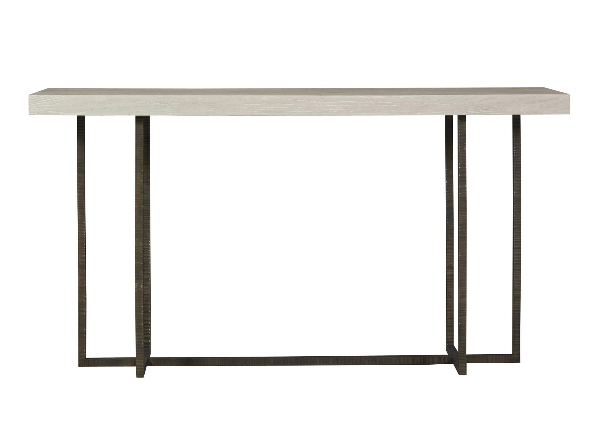 Universal Modern | Wilder Console Table | Hawthorne Heights Raised regarding Clairemont Demilune Console Tables (Image 29 of 30)