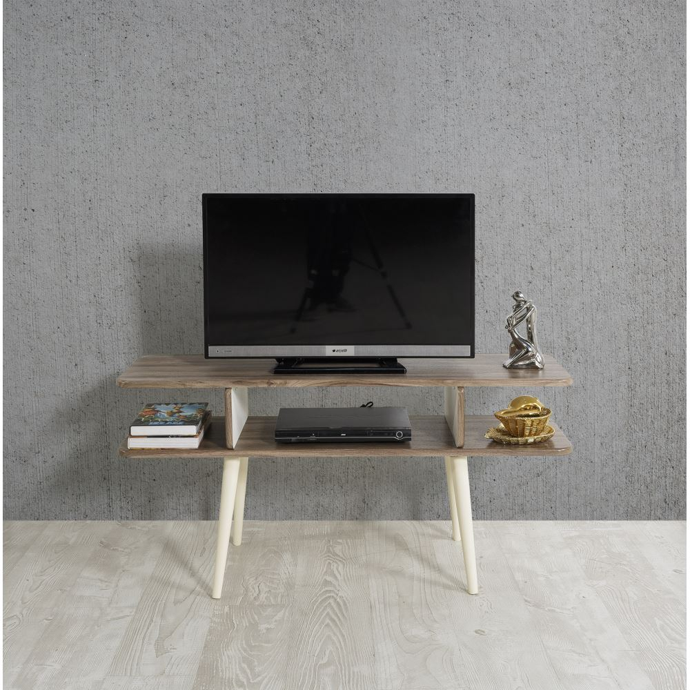 Veys Bulmaca Tv Sehpası Ceviz | Tekzen Within Cato 60 Inch Tv Stands (View 23 of 30)