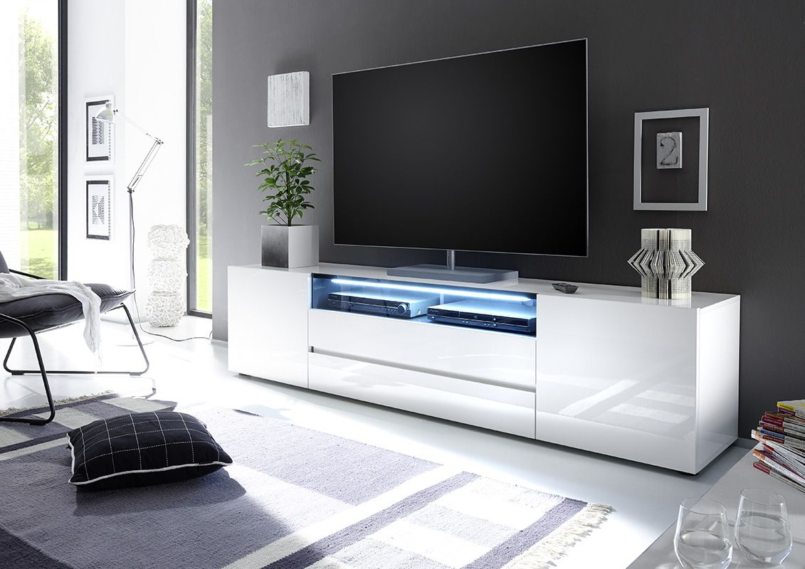 Vicenza 203 – Lowboard Tv Stand | Home Furnish | Tv Cabinets, Tv For Dixon White 65 Inch Tv Stands (View 6 of 30)
