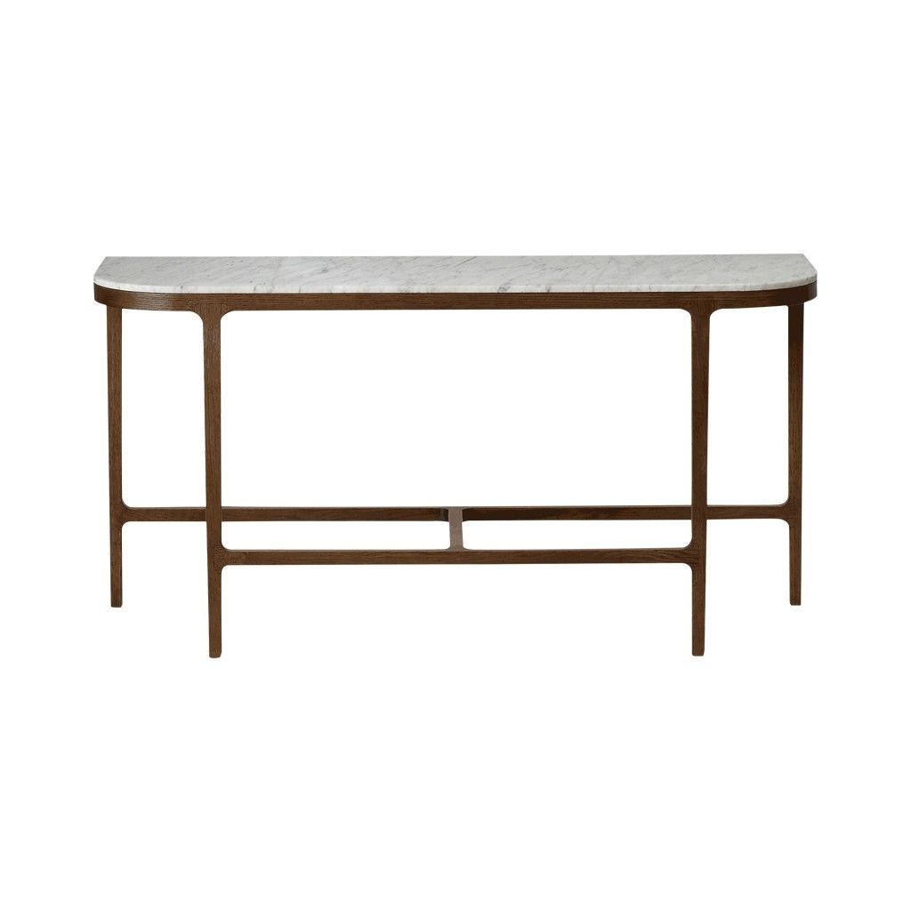 Victoria Marble Console Table | Marble Console Table, Console Tables With Regard To Elke Marble Console Tables With Polished Aluminum Base (View 6 of 30)