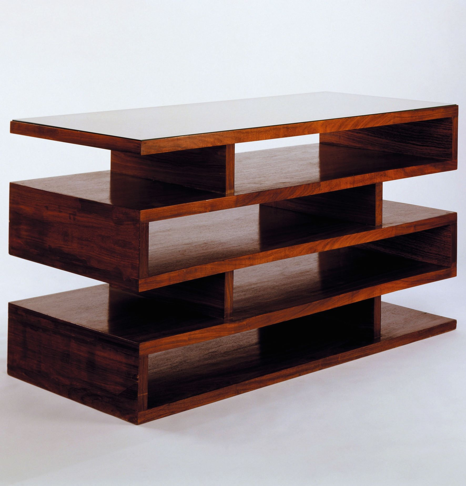 Walter Gropius; Newspaper Shelves, 1923. | Shelved | Bauhaus Pertaining To Walters Media Console Tables (Photo 6 of 30)