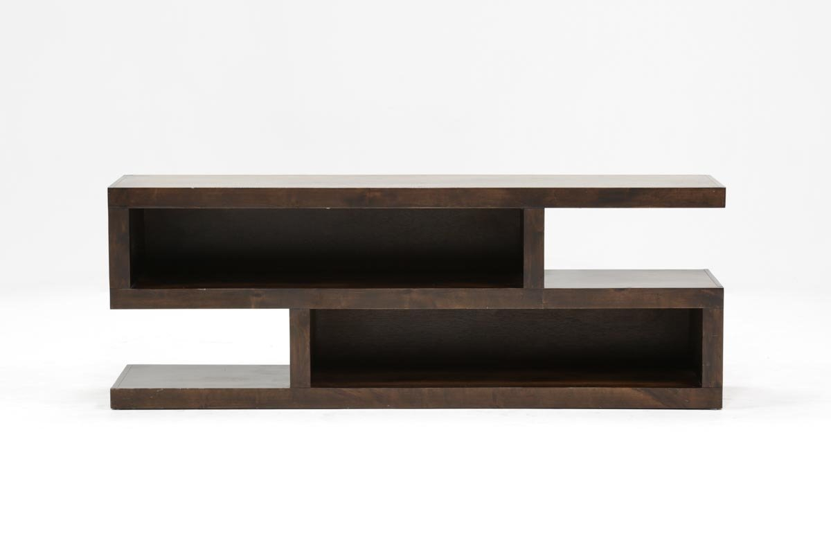 Walton 74 Inch Open Tv Stand | Living Spaces Throughout Walton 60 Inch Tv Stands (Photo 12 of 30)