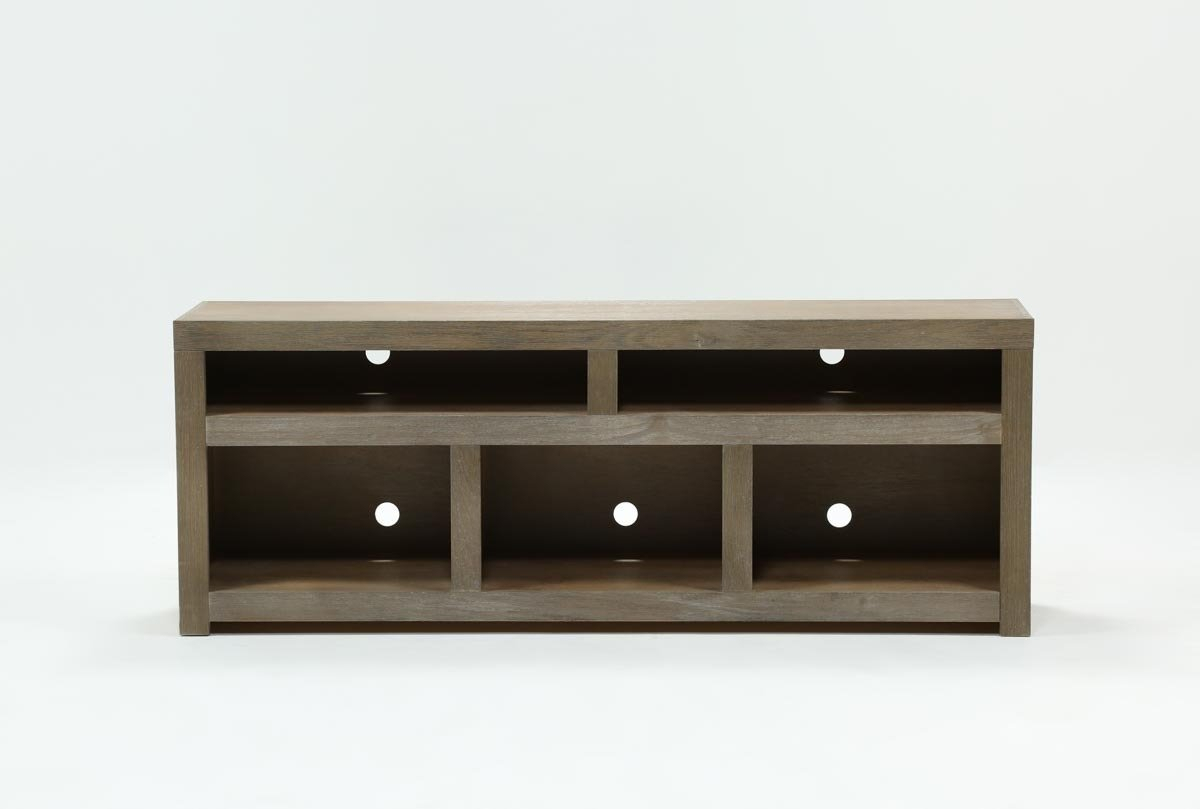 Walton Grey 72 Inch Tv Stand | Living Spaces For Vista 60 Inch Tv Stands (Photo 30 of 30)