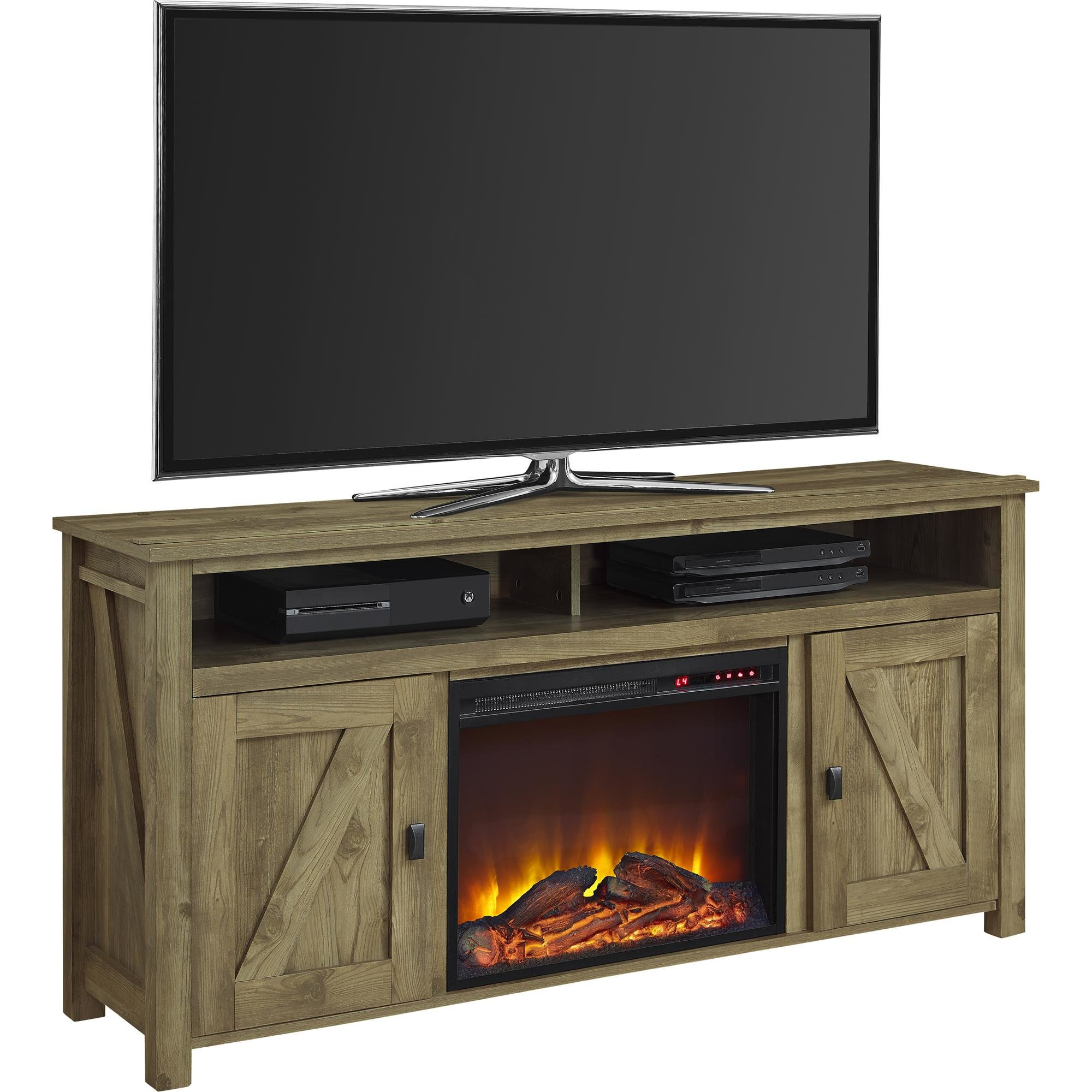 "Whittier Tv Stand For Tvs Up To 60"" With Fireplace & Reviews 