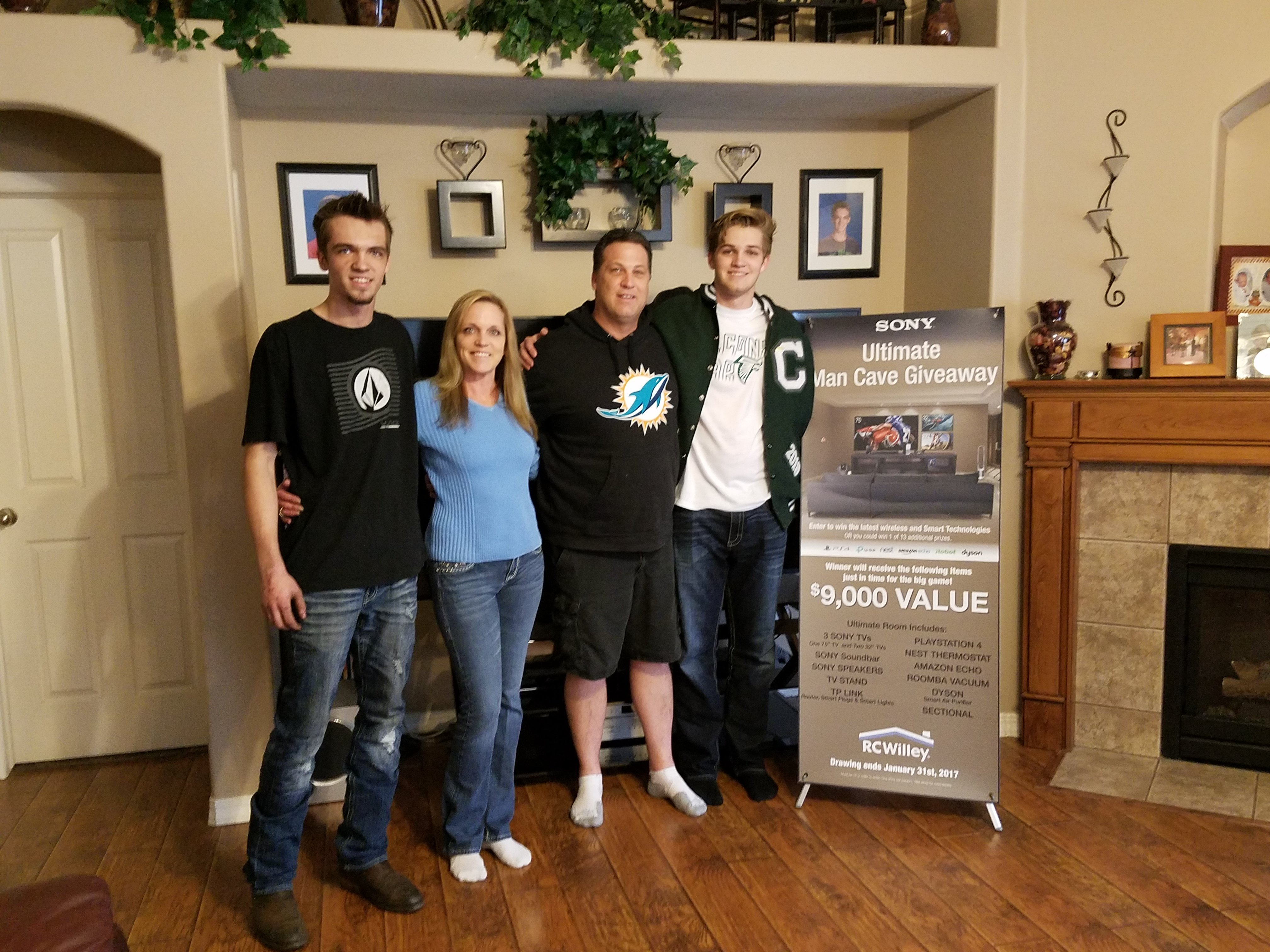 Winner's Circle | Rc Willey Furniture Store within Maddy 50 Inch Tv Stands (Image 30 of 30)