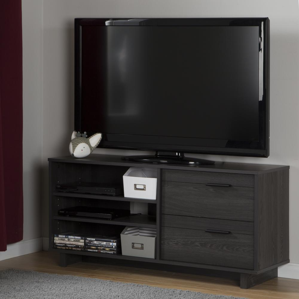 Winsome Valmont Chestnut Oak Entertainment Center Electric Fireplace Throughout Abbot 60 Inch Tv Stands (View 22 of 30)