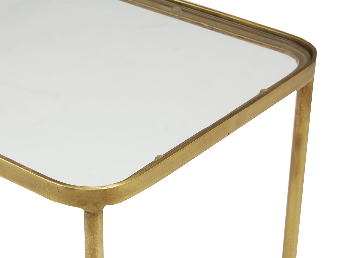 Wonder Full Console Table | Brass And Glass Console Table | Loaf Throughout Roman Metal Top Console Tables (View 17 of 30)