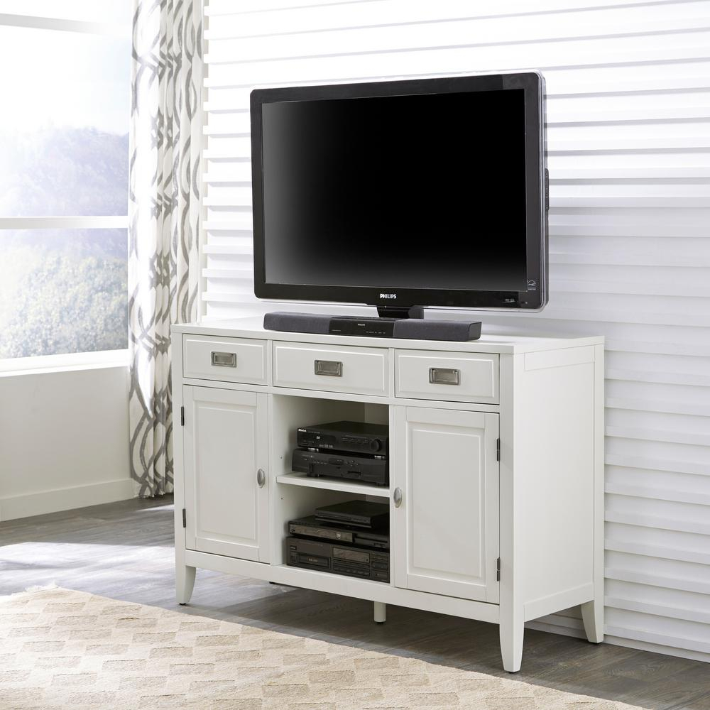 Wood   Corner Unit   Tv Stands   Living Room Furniture   The Home Depot Inside Abbott Driftwood 60 Inch Tv Stands (Photo 25 of 30)