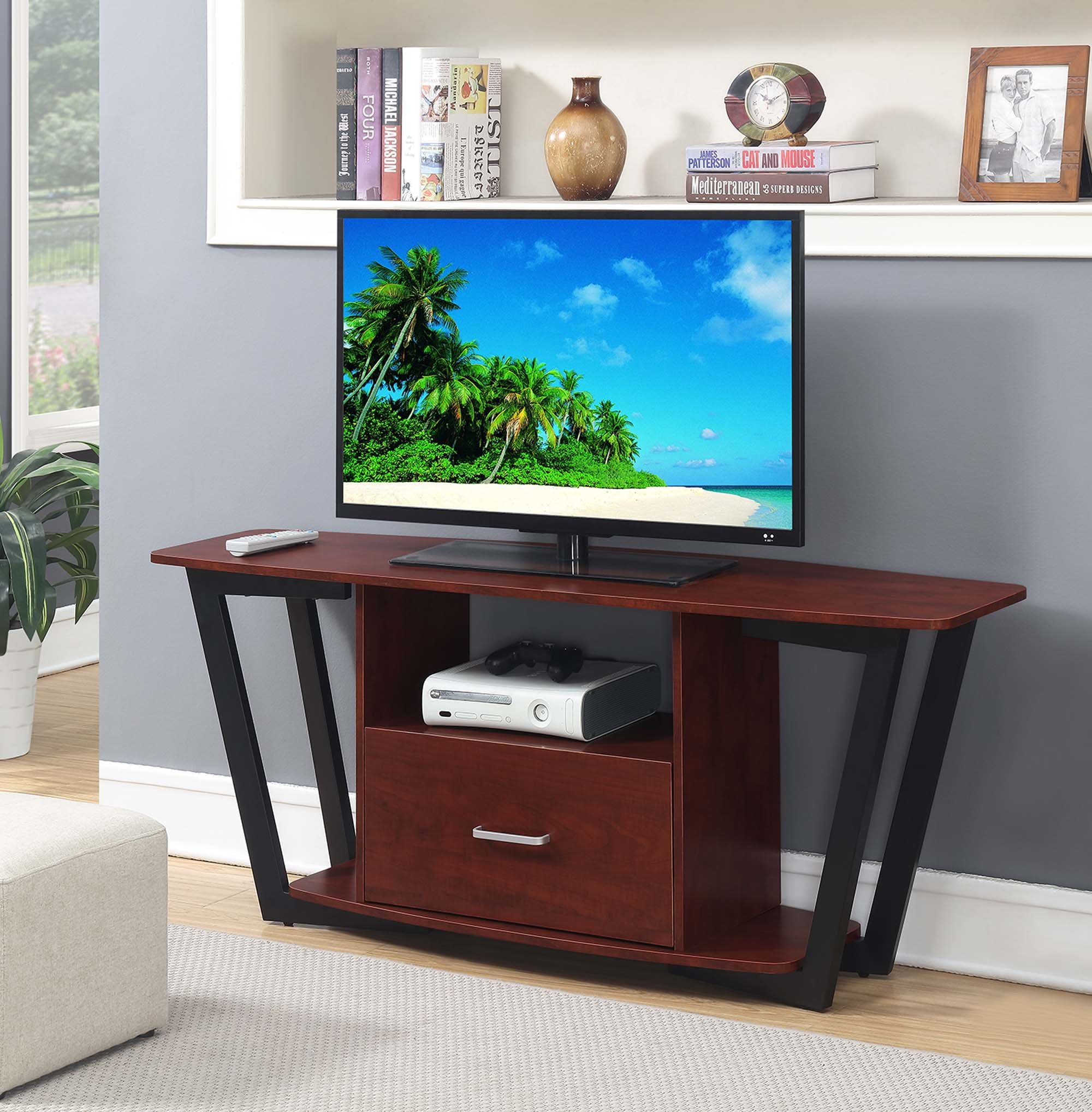 """Wrought Studio Andujar Tv Stand For Tvs Up To 65"""" & Reviews 