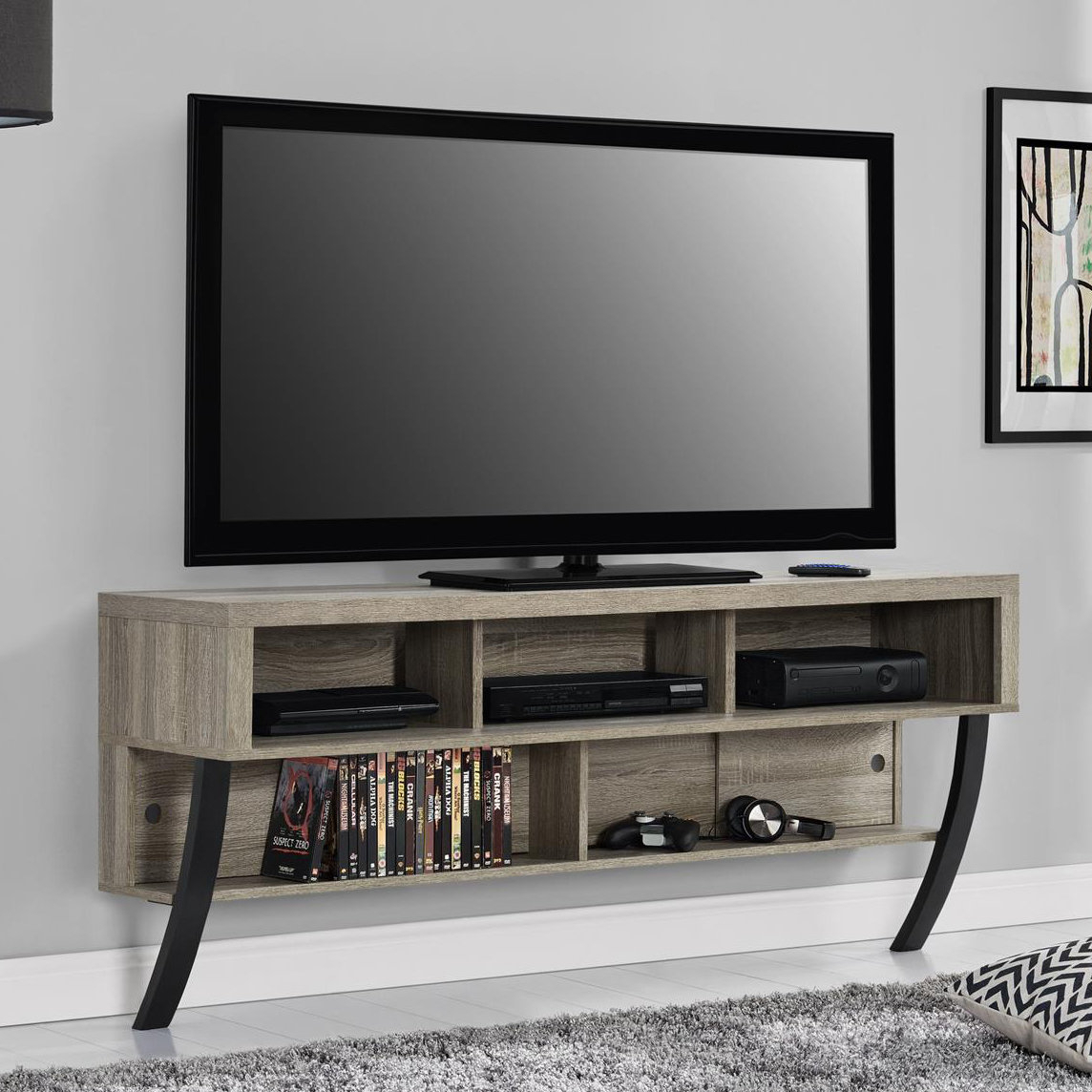 Wrought Studio Stringer Tv Stand For Tvs Up To 65"