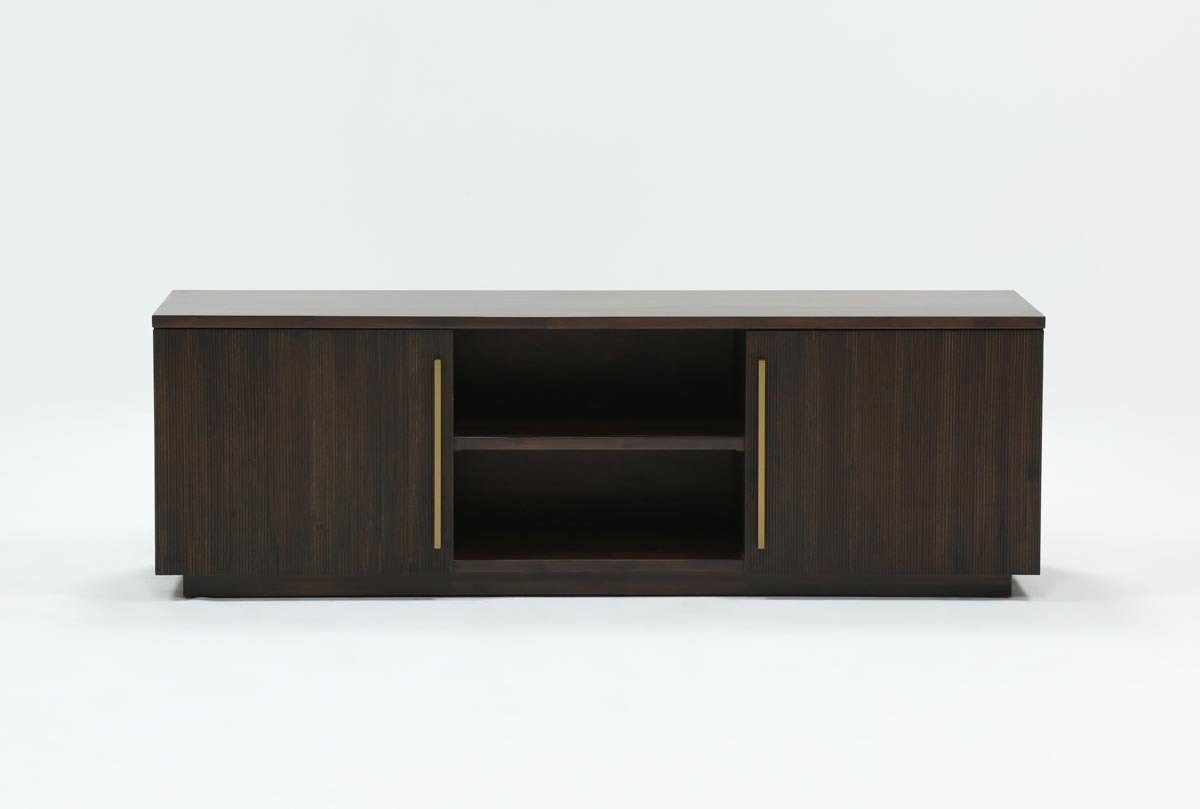 Wyatt 68 Inch Tv Stand | Living Spaces With Regard To Willa 80 Inch Tv Stands (Photo 11 of 30)