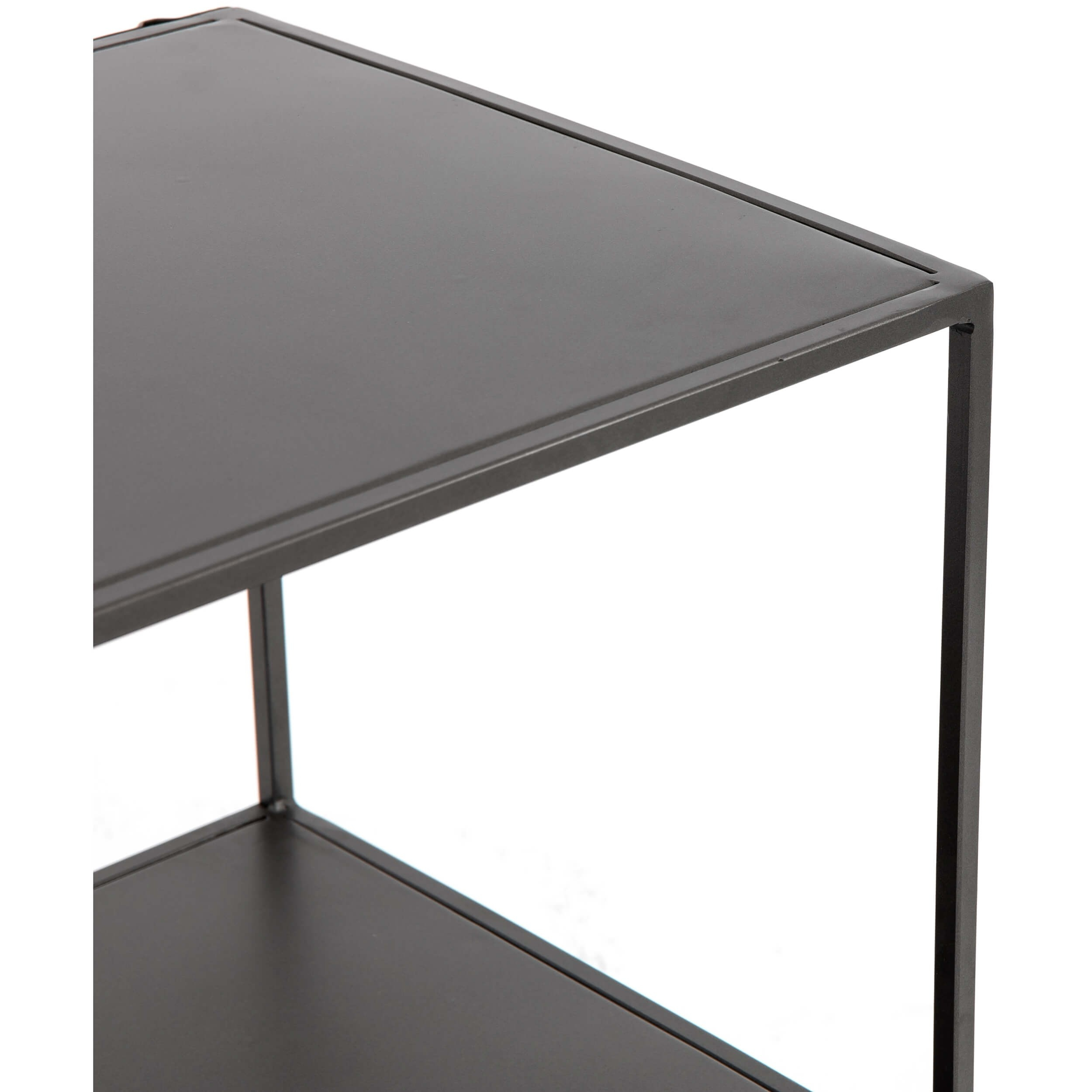 Zadie Media Console – Media – Storage – Furniture With Regard To Gunmetal Perforated Brass Media Console Tables (View 10 of 30)