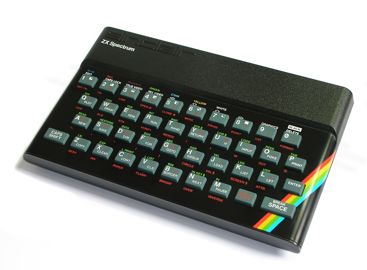 Zx Spectrum – Wikipedia With Regard To Sinclair Blue 64 Inch Tv Stands (View 30 of 30)