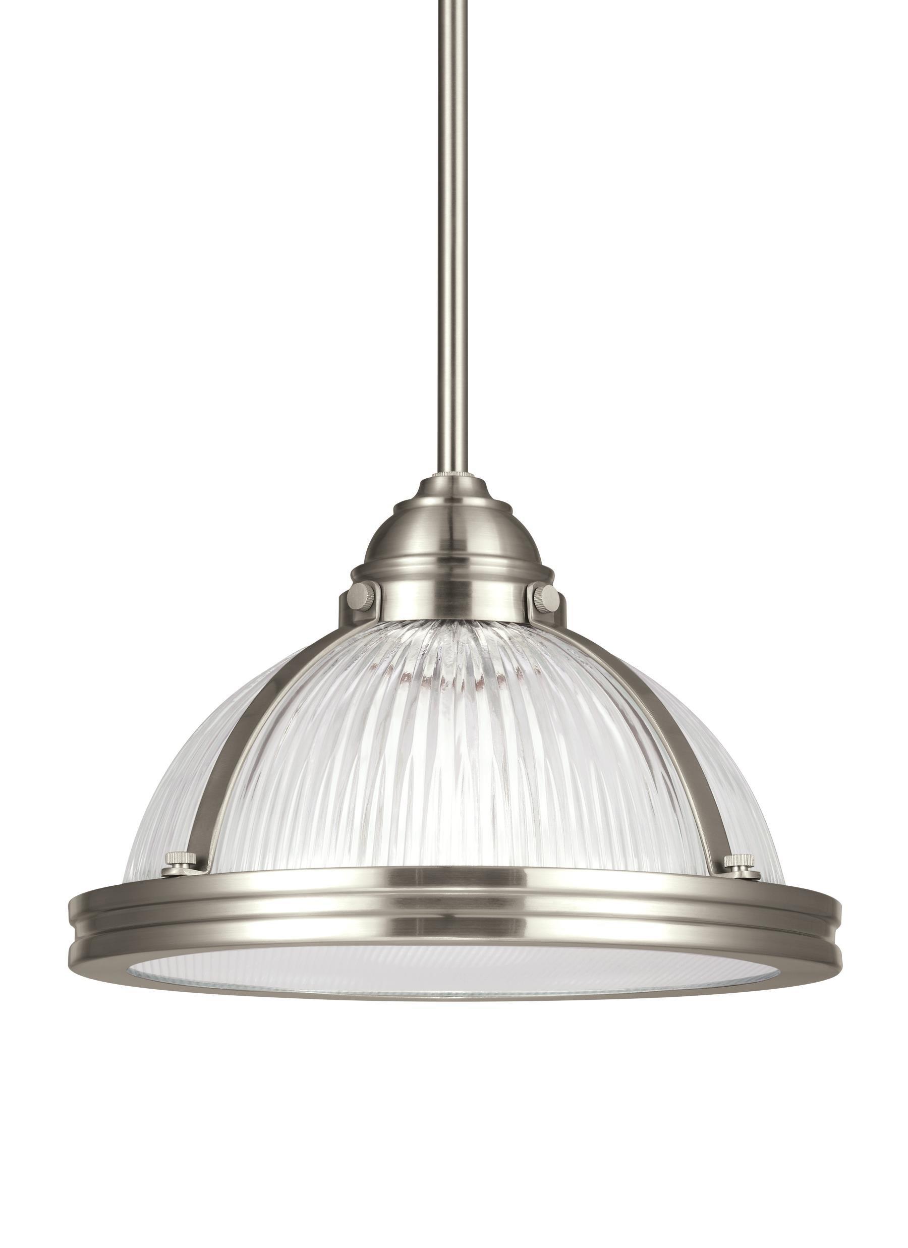 1-Light Bowl Pendant with regard to Granville 2-Light Single Dome Pendants (Image 1 of 30)