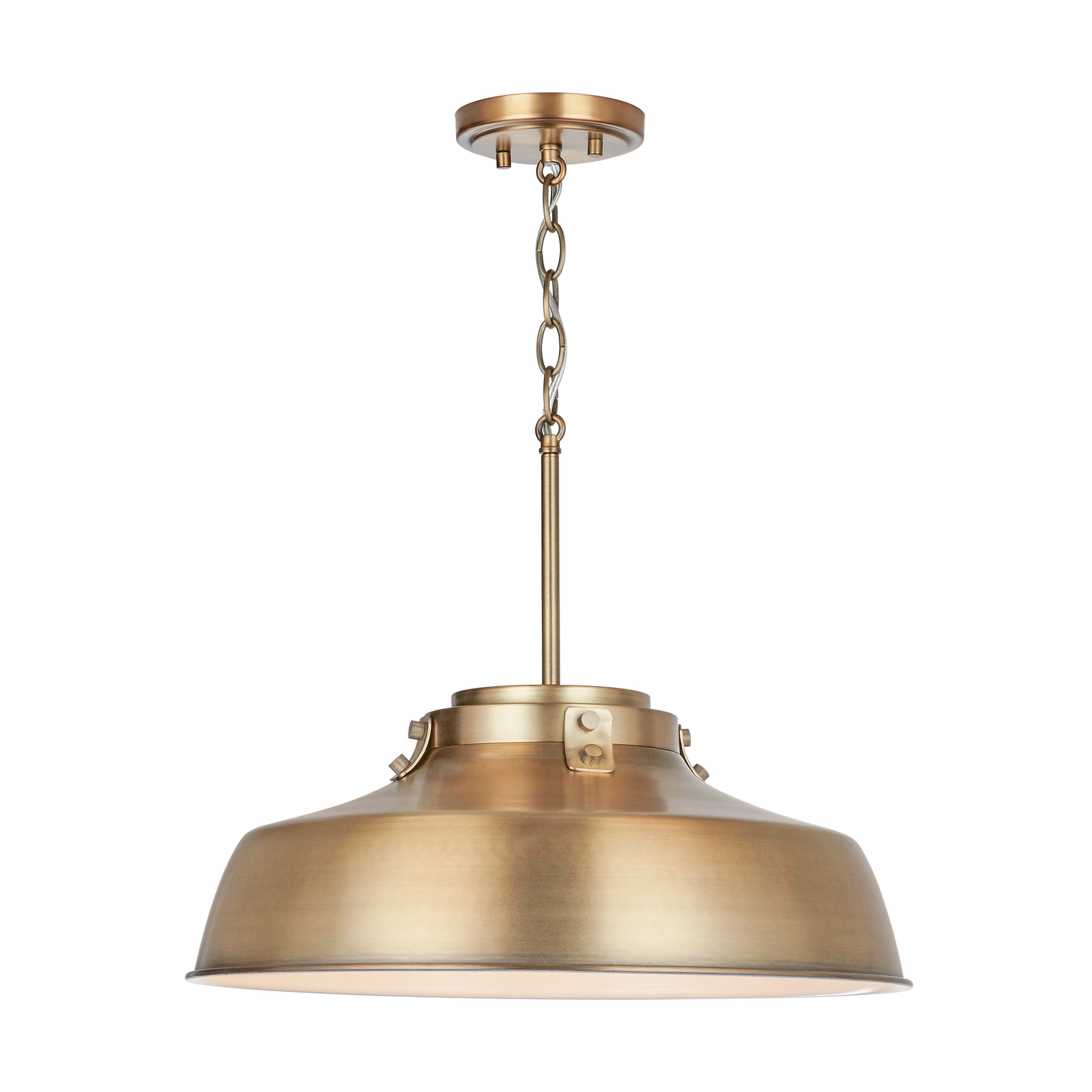 1 Light Dome Pendant Pertaining To Mueller 1 Light Single Dome Pendants (View 1 of 30)