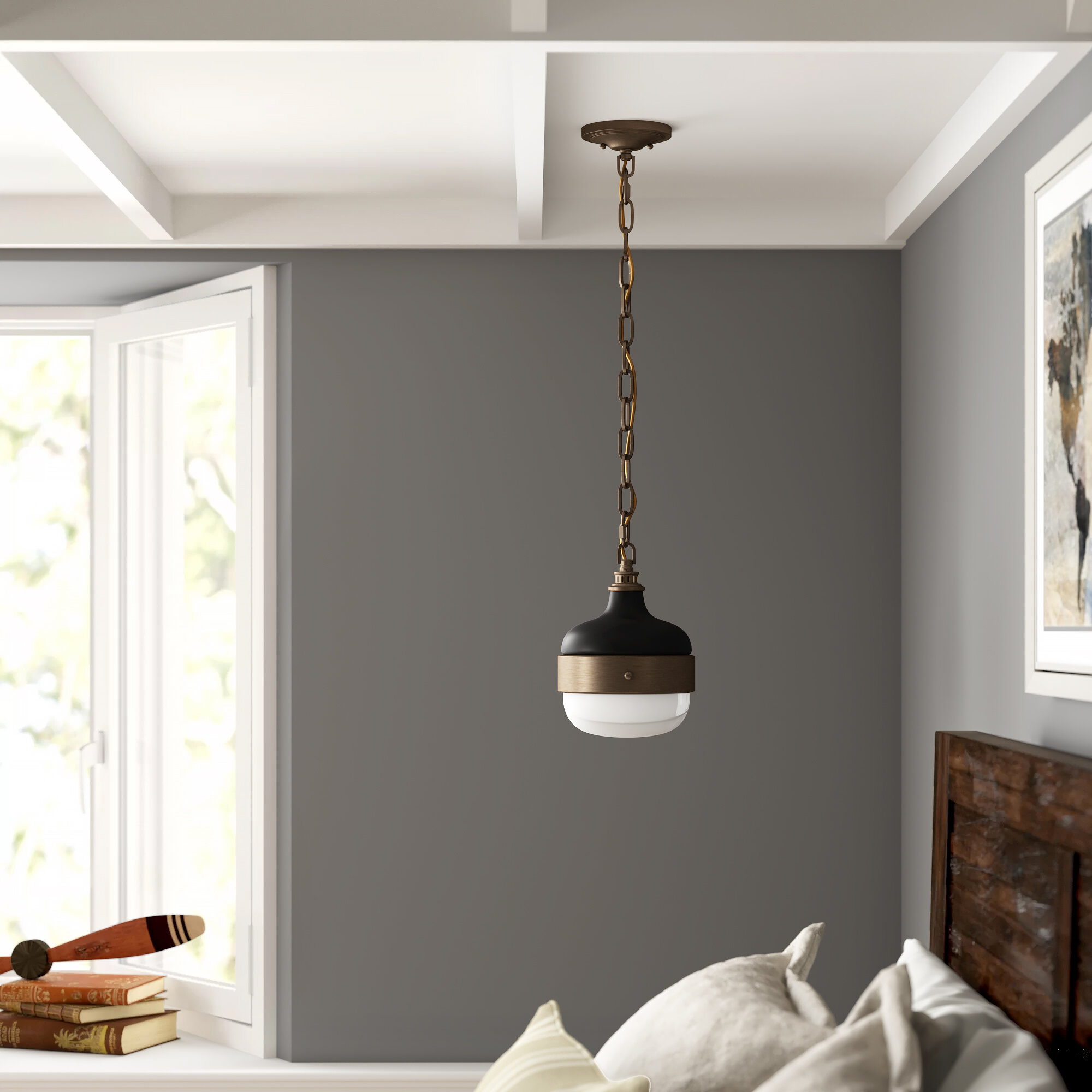 1 Light Globe Pendant For Ryker 1 Light Single Dome Pendants (Photo 11 of 30)