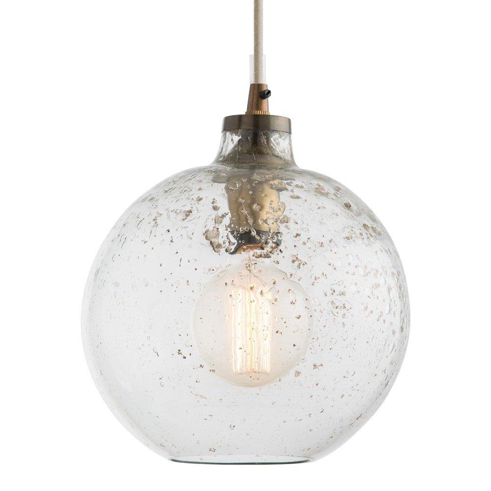 1 Light Globe Pendant In Giacinta 1 Light Single Bell Pendants (Gallery 13 of 30)
