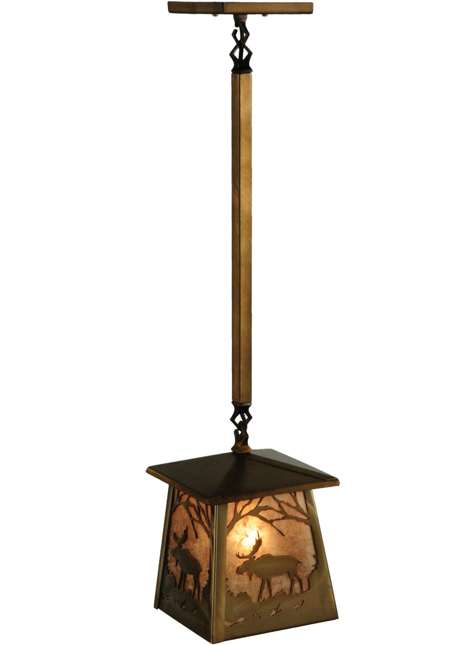 1 Light Lantern Geometric Pendant Within Louanne 1 Light Lantern Geometric Pendants (Gallery 12 of 30)