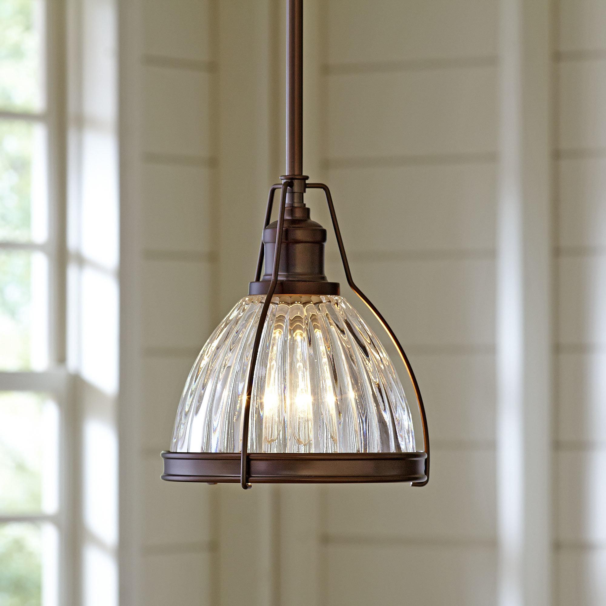 1 Light Single Bell Pendant For Goldie 1 Light Single Bell Pendants (Photo 9 of 30)