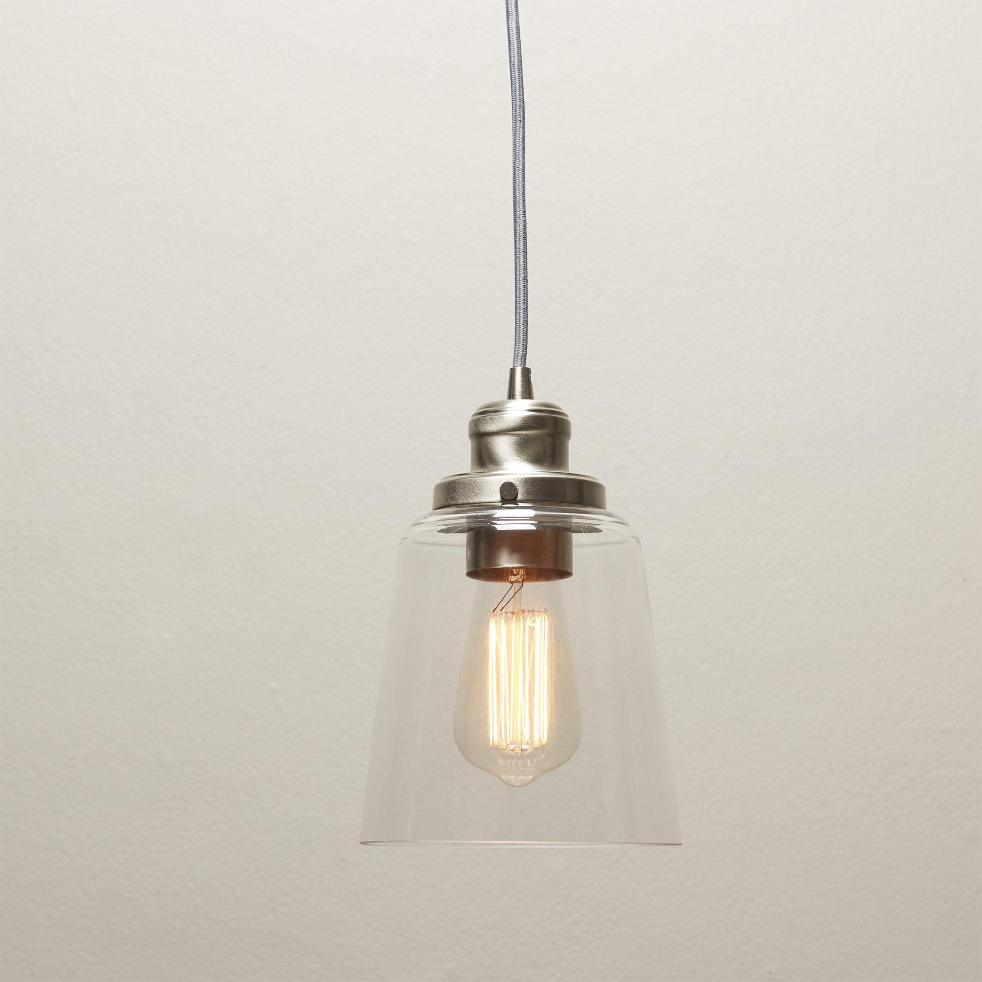 1-Light Single Bell Pendant intended for Moyer 1-Light Single Cylinder Pendants (Image 3 of 30)