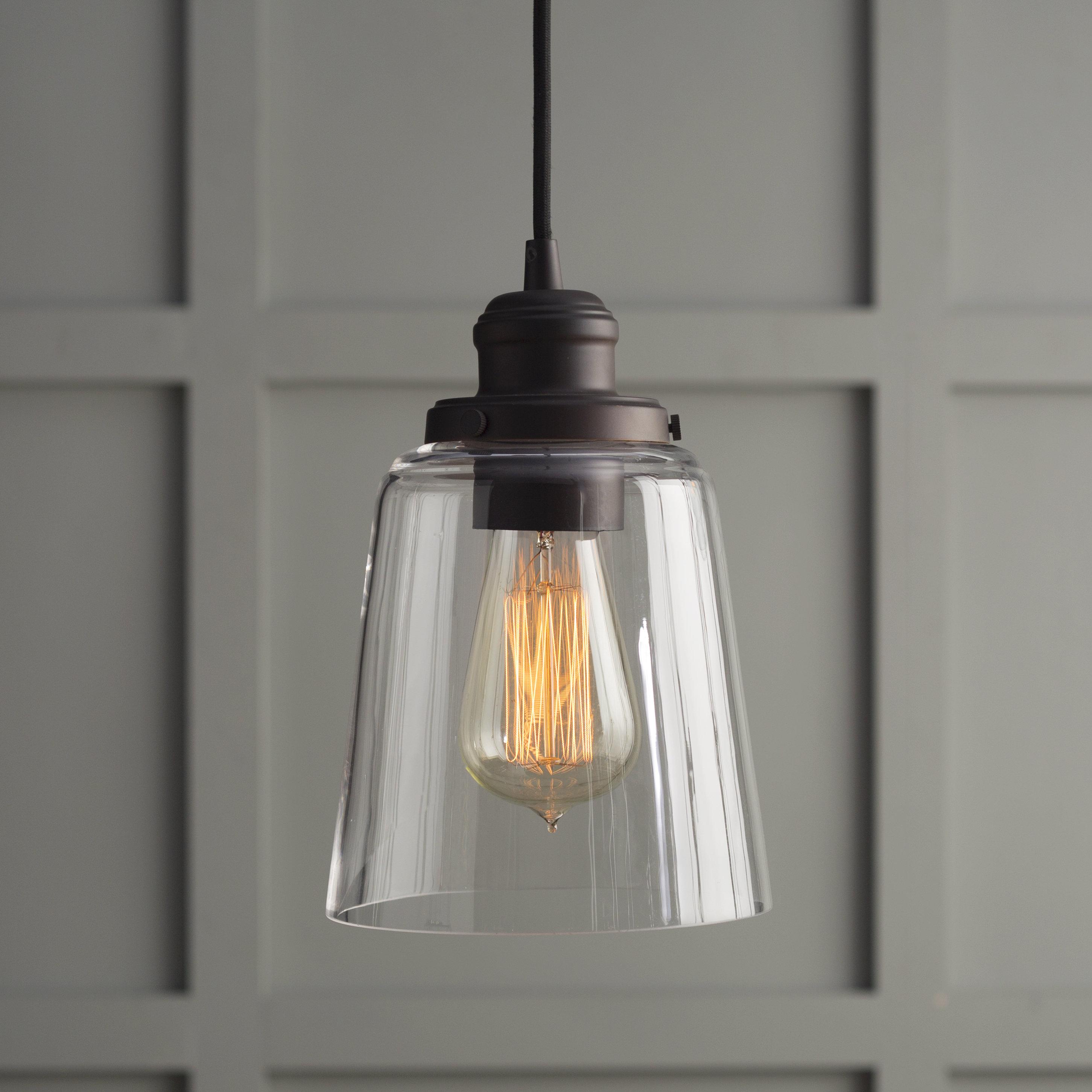 1 Light Single Bell Pendant Intended For Roslindale 1 Light Single Bell Pendants (Gallery 8 of 30)