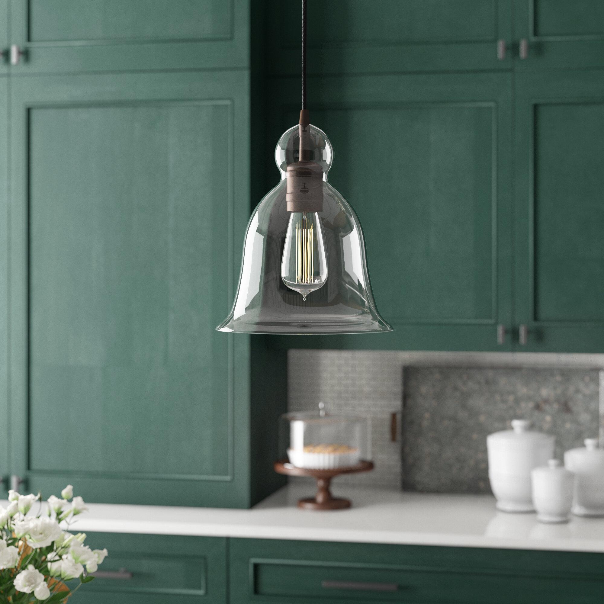1 Light Single Bell Pendant Intended For Wentzville 1 Light Single Bell Pendants (Photo 6 of 30)