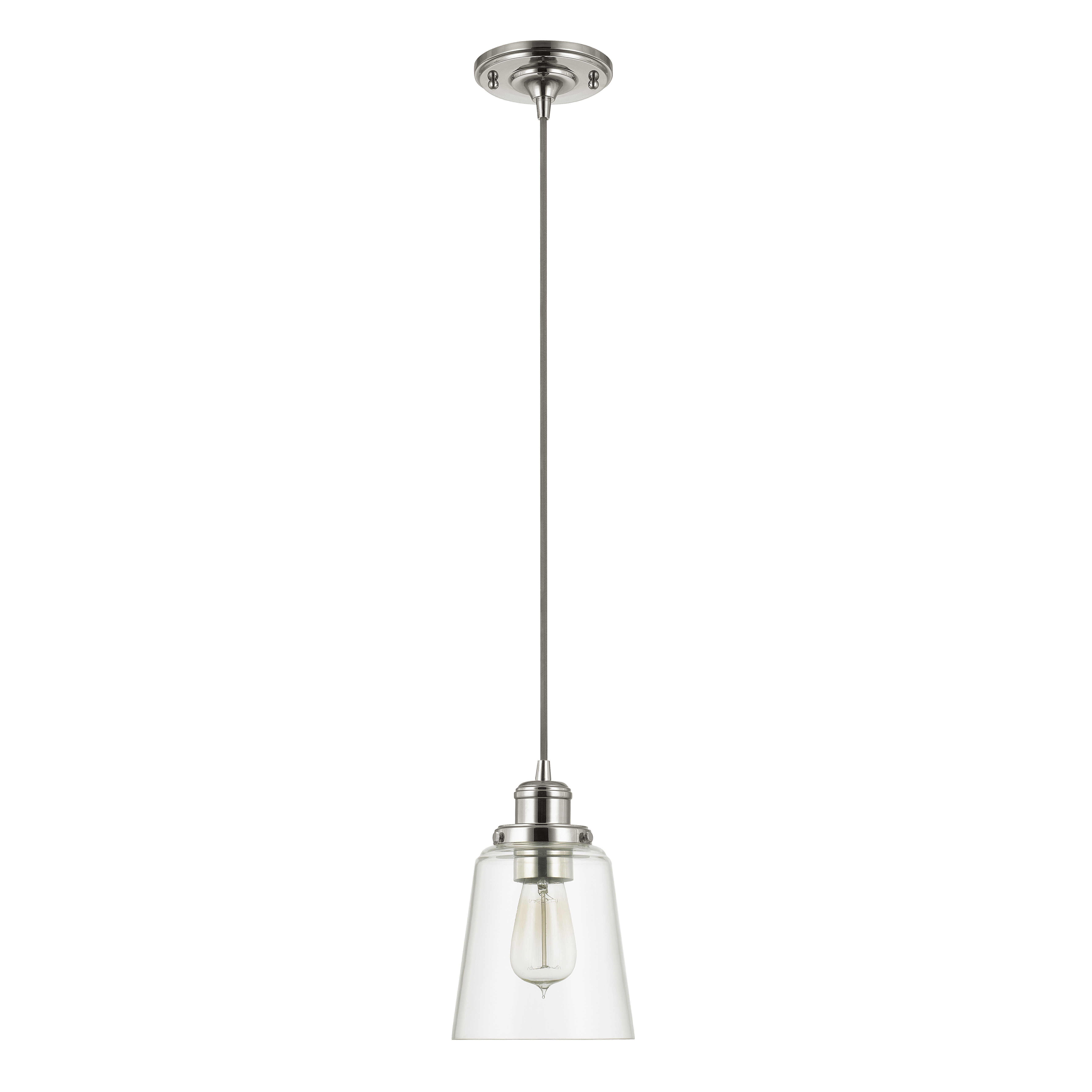 1 Light Single Bell Pendant Pertaining To Houon 1 Light Cone Bell Pendants (Gallery 17 of 30)