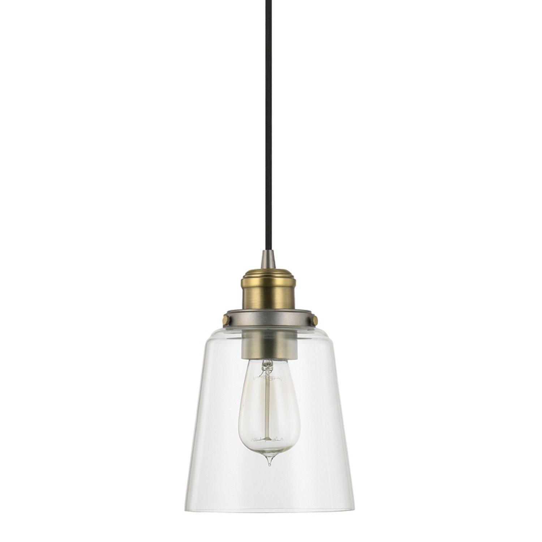 1 Light Single Bell Pendant Pertaining To Roslindale 1 Light Single Bell Pendants (Gallery 4 of 30)