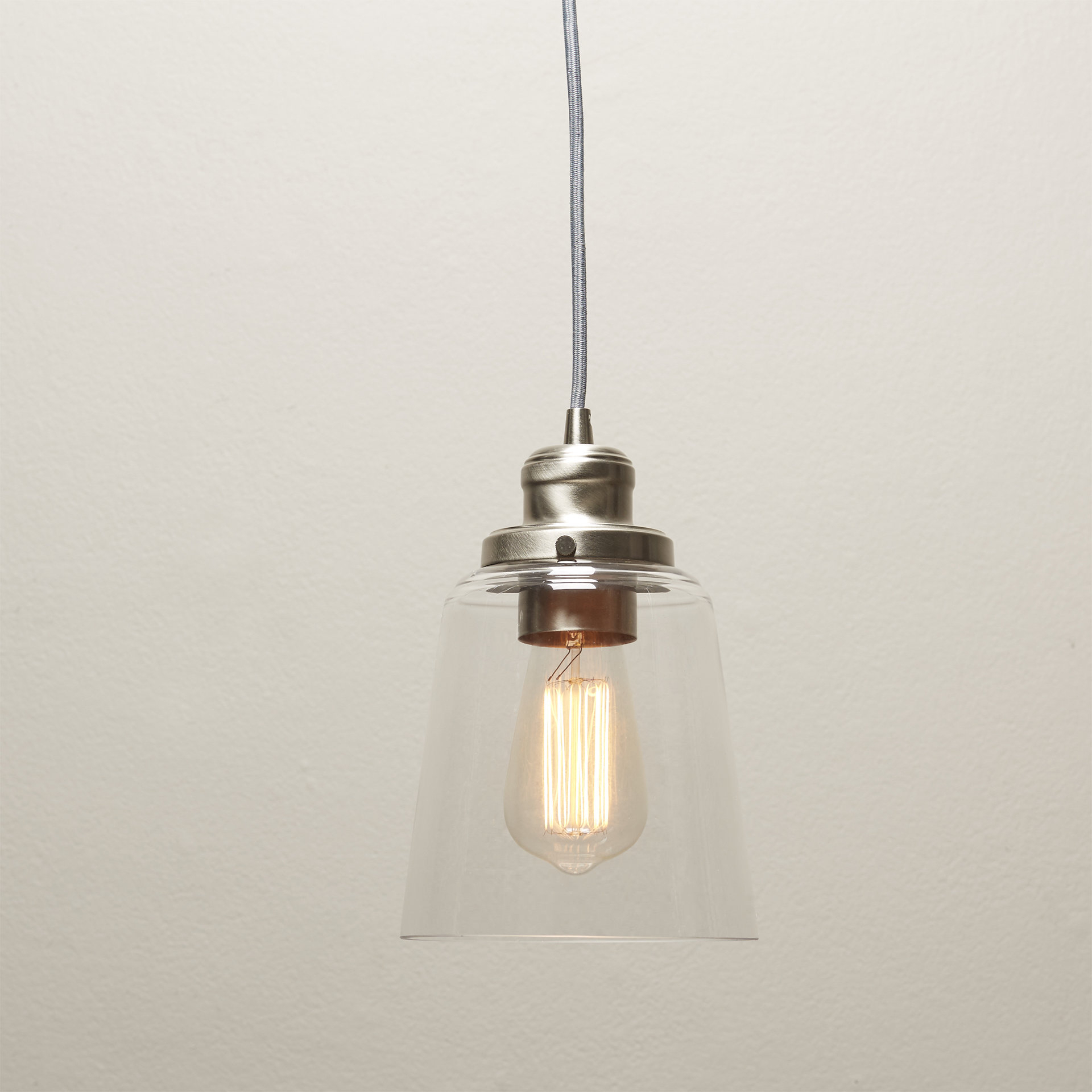 1 Light Single Bell Pendant With Houon 1 Light Cone Bell Pendants (Gallery 8 of 30)