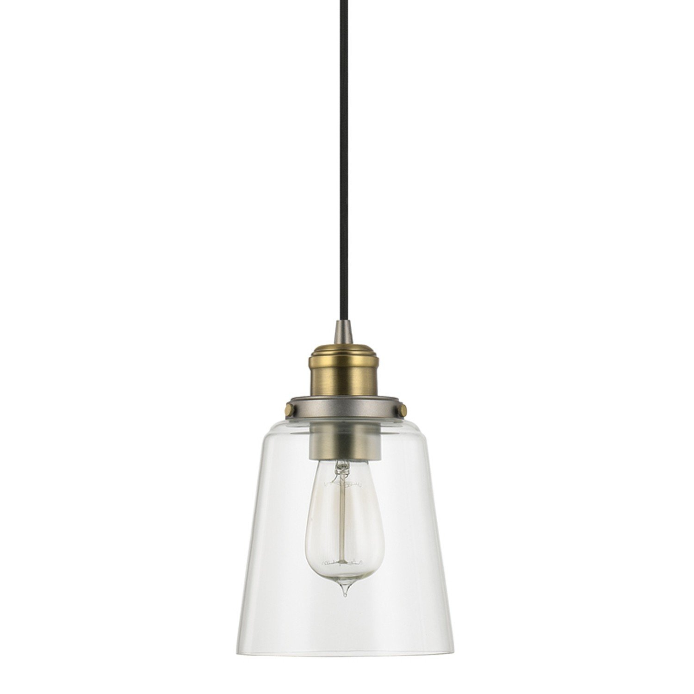 1 Light Single Bell Pendant Within Fresno Dome 1 Light Bell Pendants (Gallery 19 of 30)