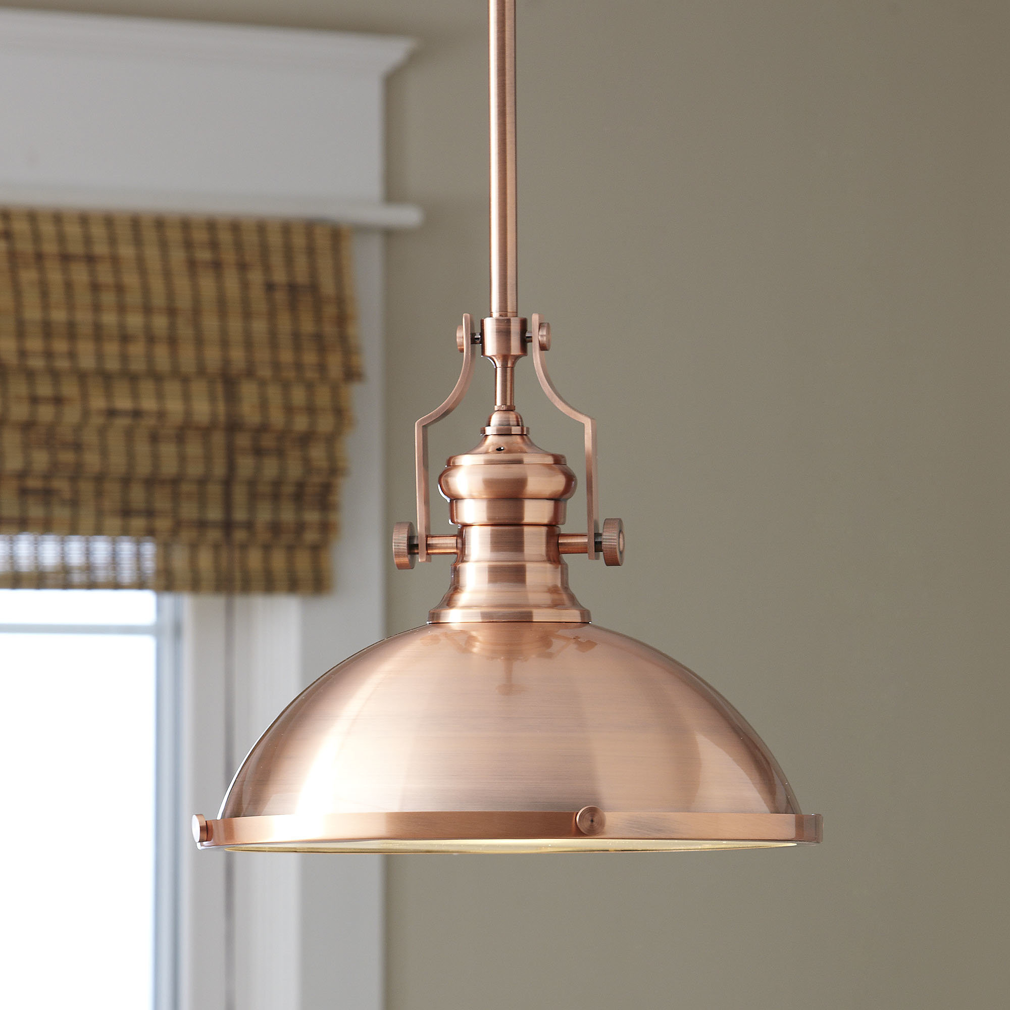 1 Light Single Dome Pendant Within Freeda 1 Light Single Dome Pendants (View 7 of 30)