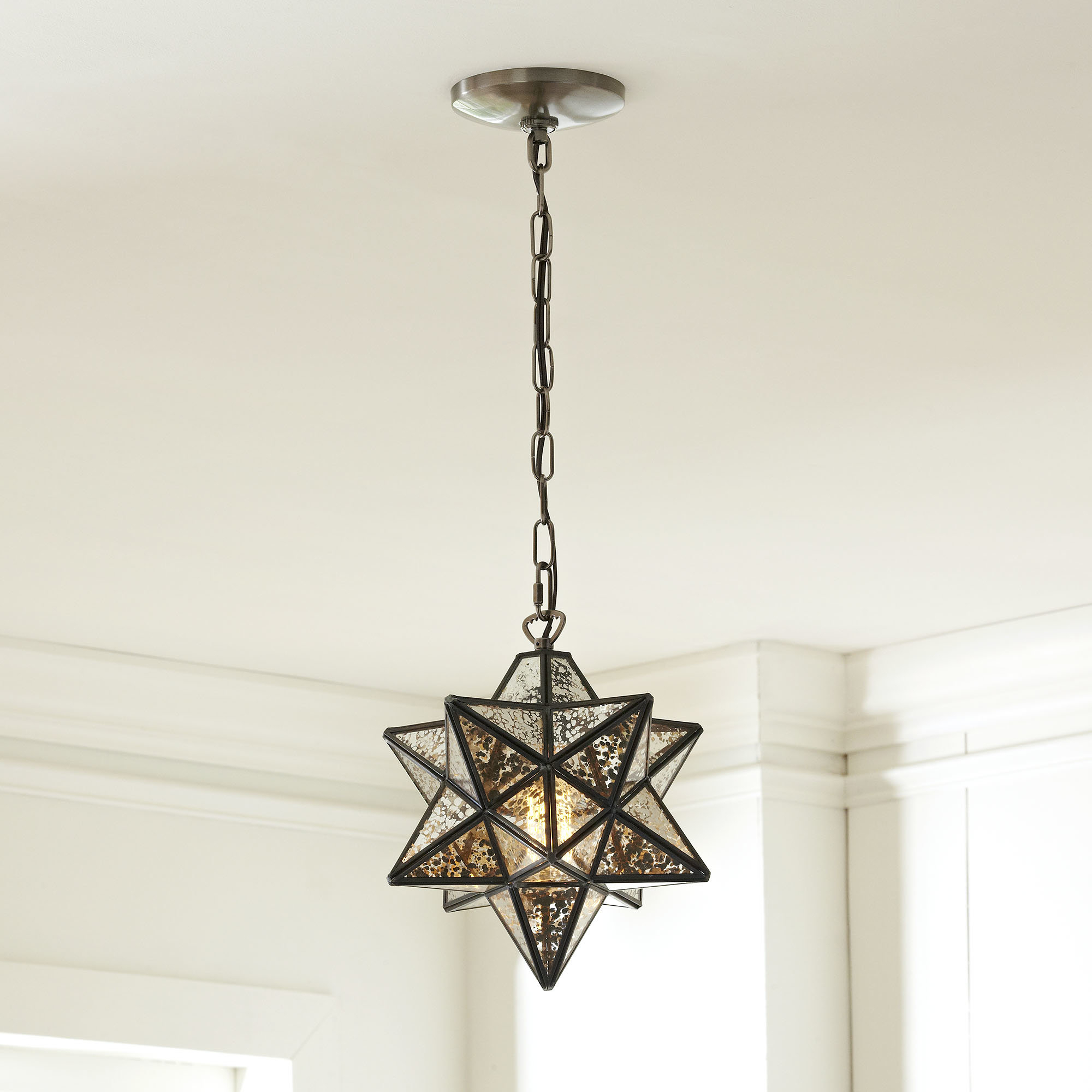 1 Light Single Star Pendant Throughout Poynter 1 Light Single Cylinder Pendants (Gallery 18 of 30)
