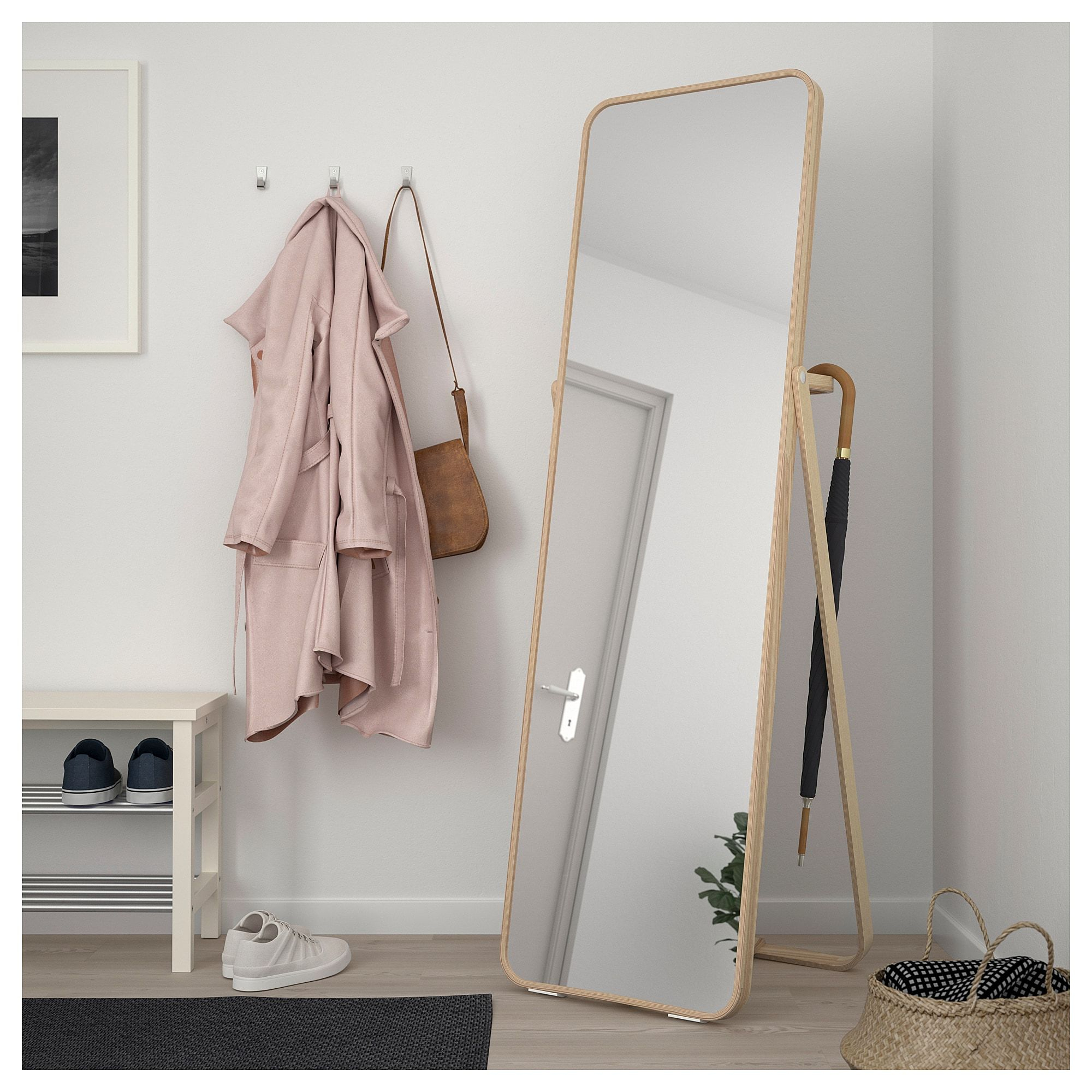 10 Standing Mirrors Under $200 – Cheap Full Length And Floor Inside Northcutt Accent Mirrors (Gallery 30 of 30)