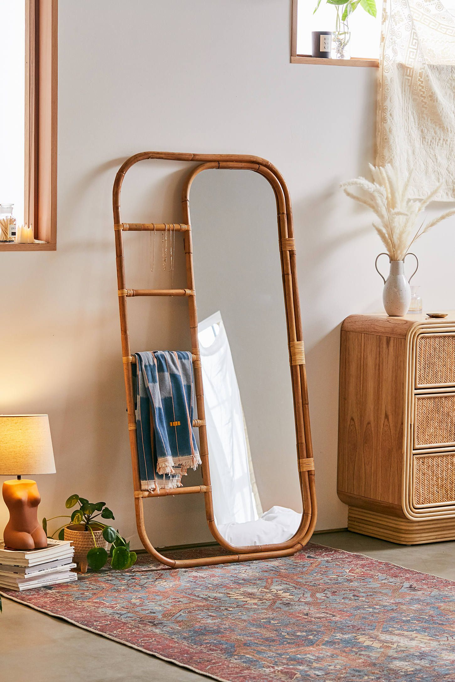 10 Standing Mirrors Under $200 – Cheap Full Length And Floor Inside Northcutt Accent Mirrors (View 17 of 30)