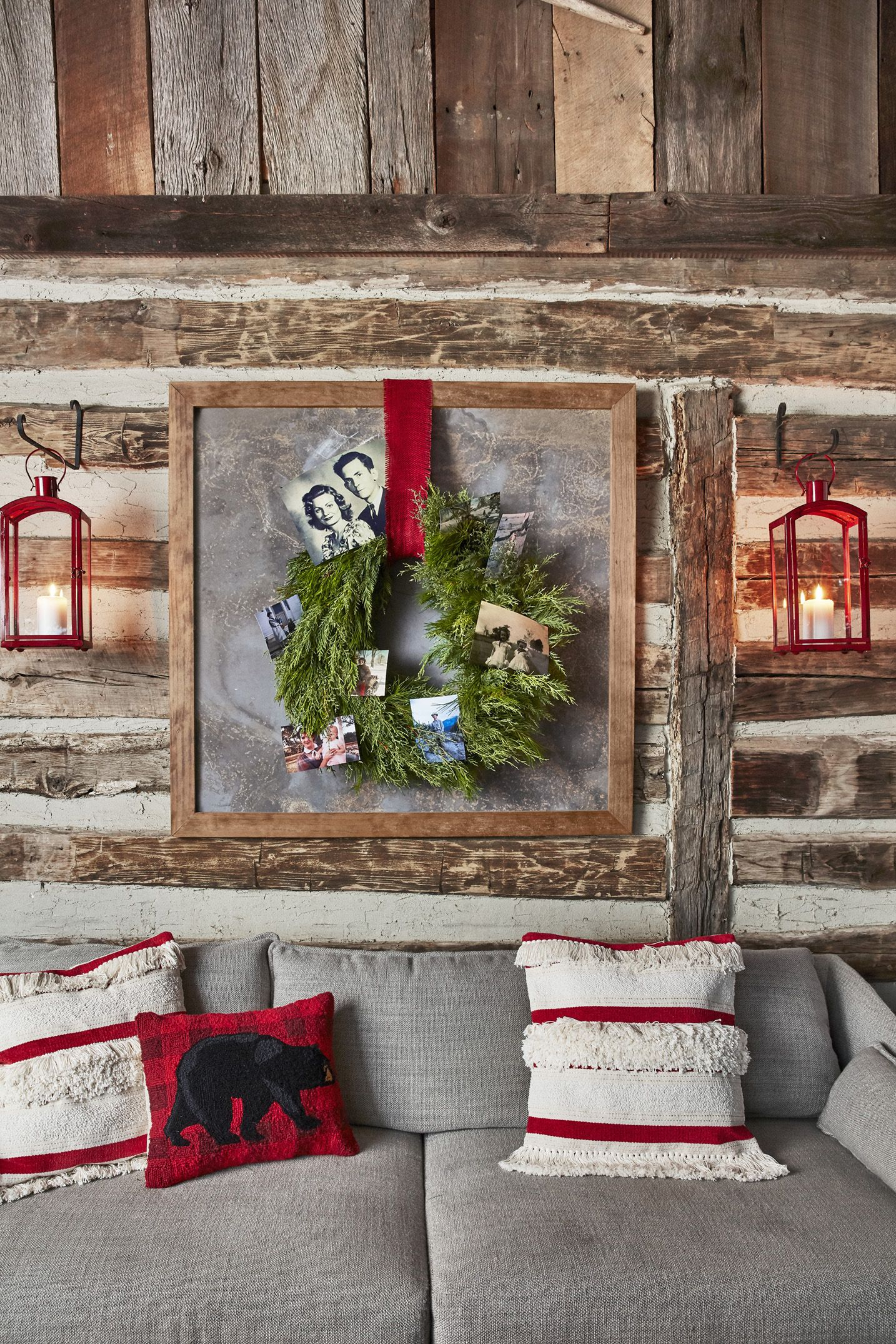 "110 Best Christmas Decoration Ideas - Easy Holiday throughout In-a-Word ""welcome"" Wall Decor by Fireside Home (Image 2 of 30)"