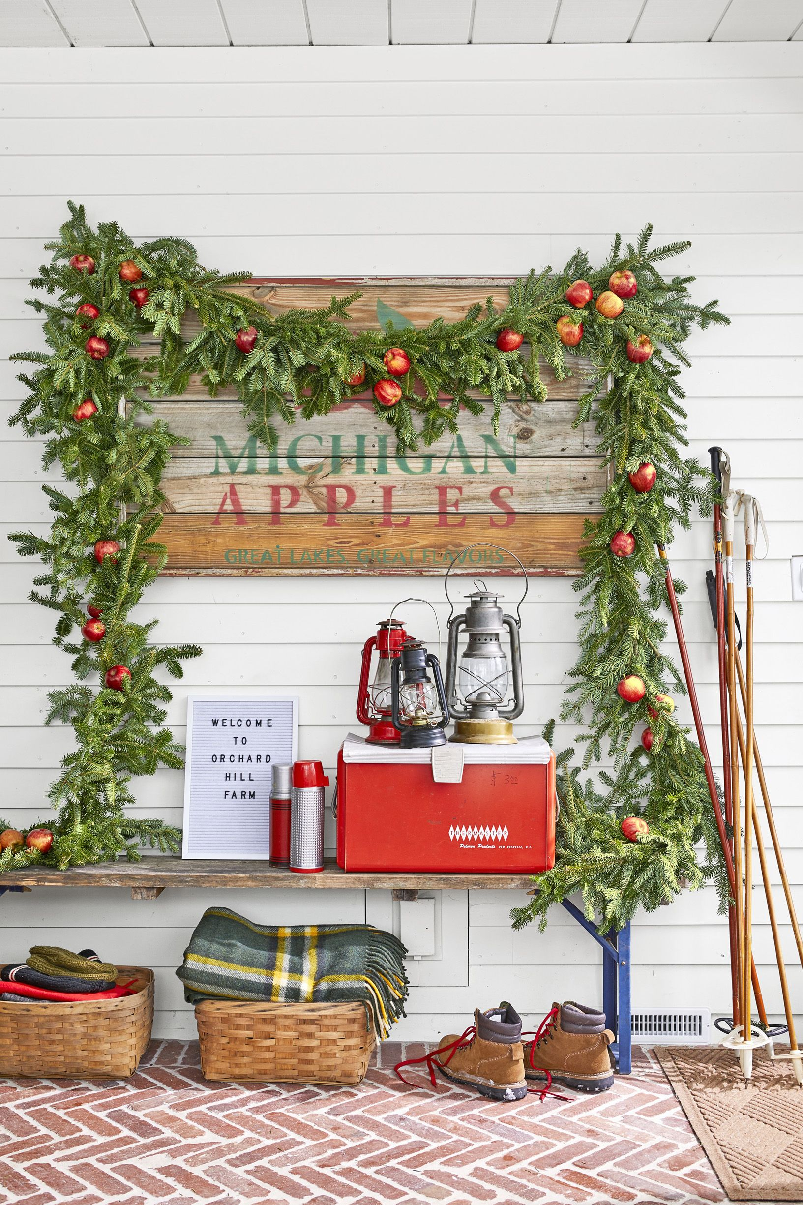 "110 Best Christmas Decoration Ideas - Easy Holiday within In-A-Word ""welcome"" Wall Decor By Fireside Home (Image 4 of 30)"