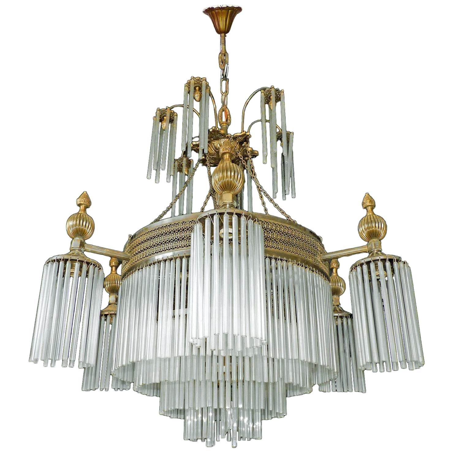 12 Light Chandelier With Vroman 12 Light Sputnik Chandeliers (View 21 of 30)