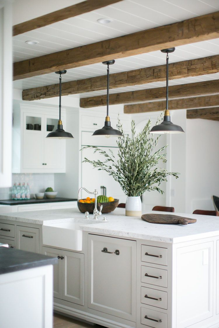 14 Stylish Ceiling Light Ideas For The Kitchen | Kitchen intended for Schutt 4-Light Kitchen Island Pendants (Image 1 of 30)