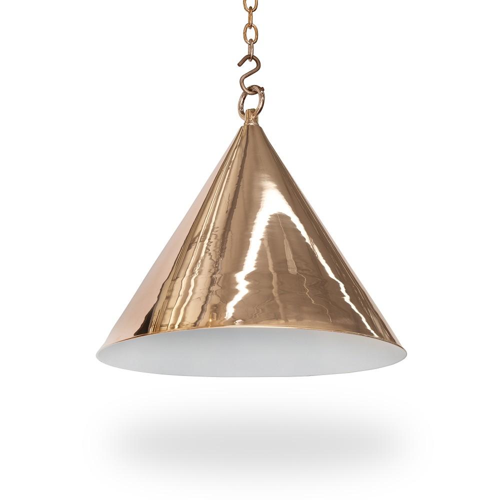 """15"""" Diameter Cone Light – Ann Morris – Custom Lighting For Moris 1 Light Cone Pendants (View 1 of 30)"""