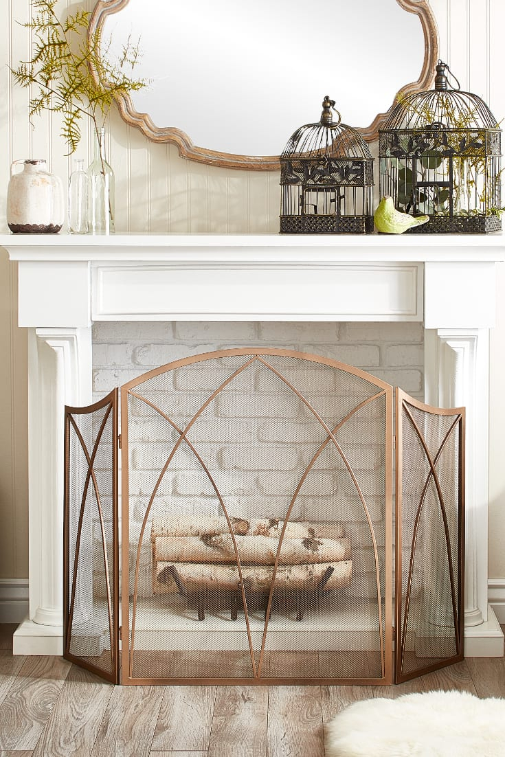 15 Mantel Decor Ideas For Above Your Fireplace - Overstock regarding 4 Piece Metal Wall Decor Sets (Image 2 of 30)