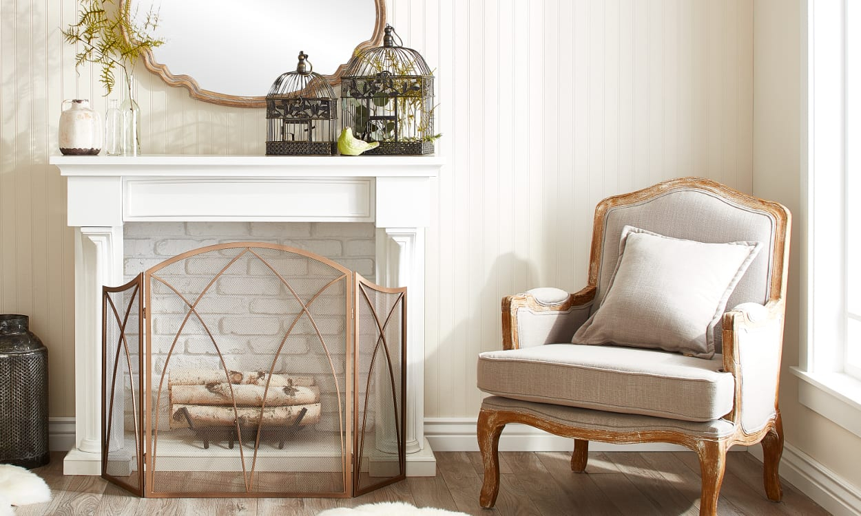 15 Mantel Decor Ideas For Above Your Fireplace – Overstock Regarding 4 Piece Metal Wall Decor Sets (View 22 of 30)