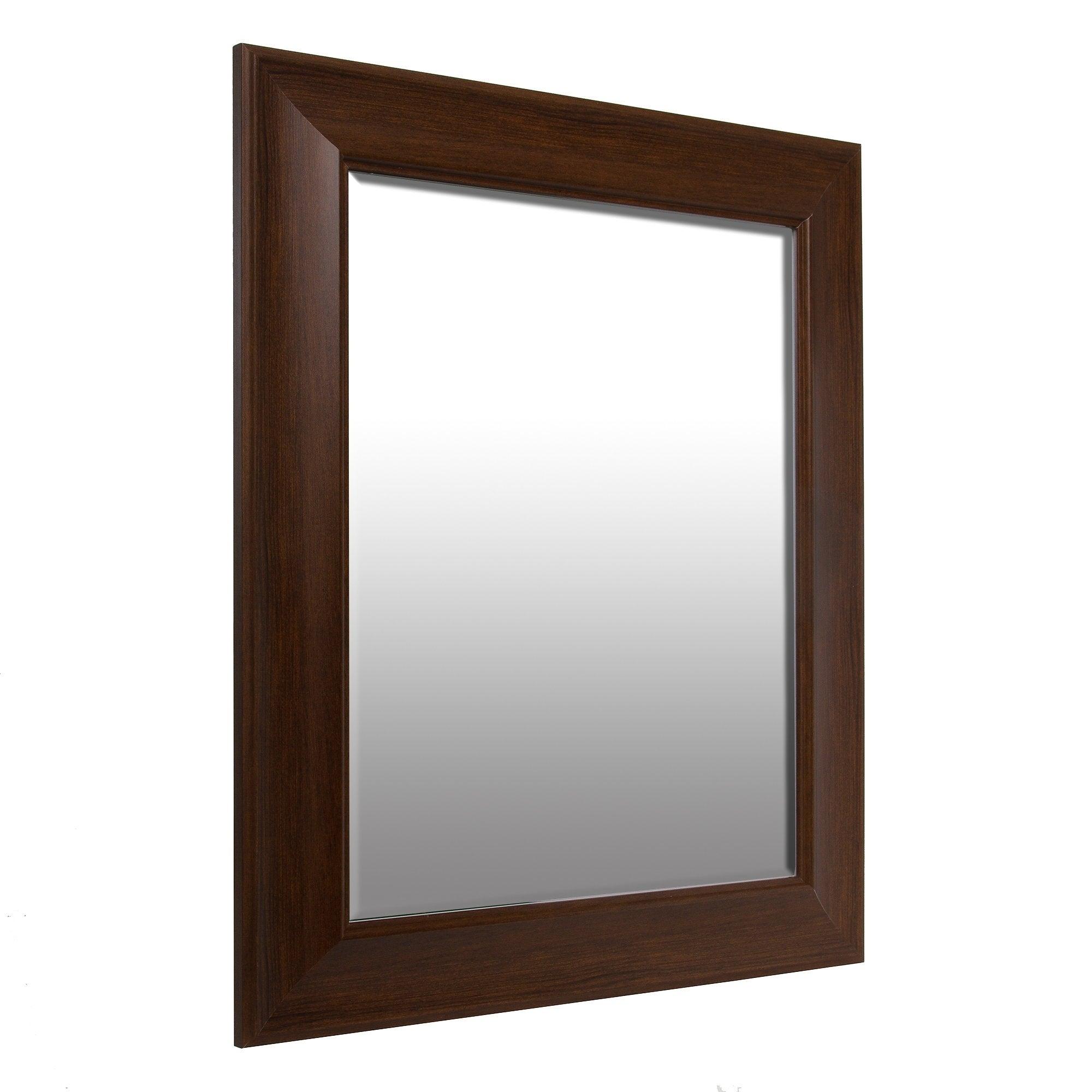 16X20 Traditional Beveled Wall Mirror Regarding Traditional Beveled Accent Mirrors (Gallery 18 of 30)