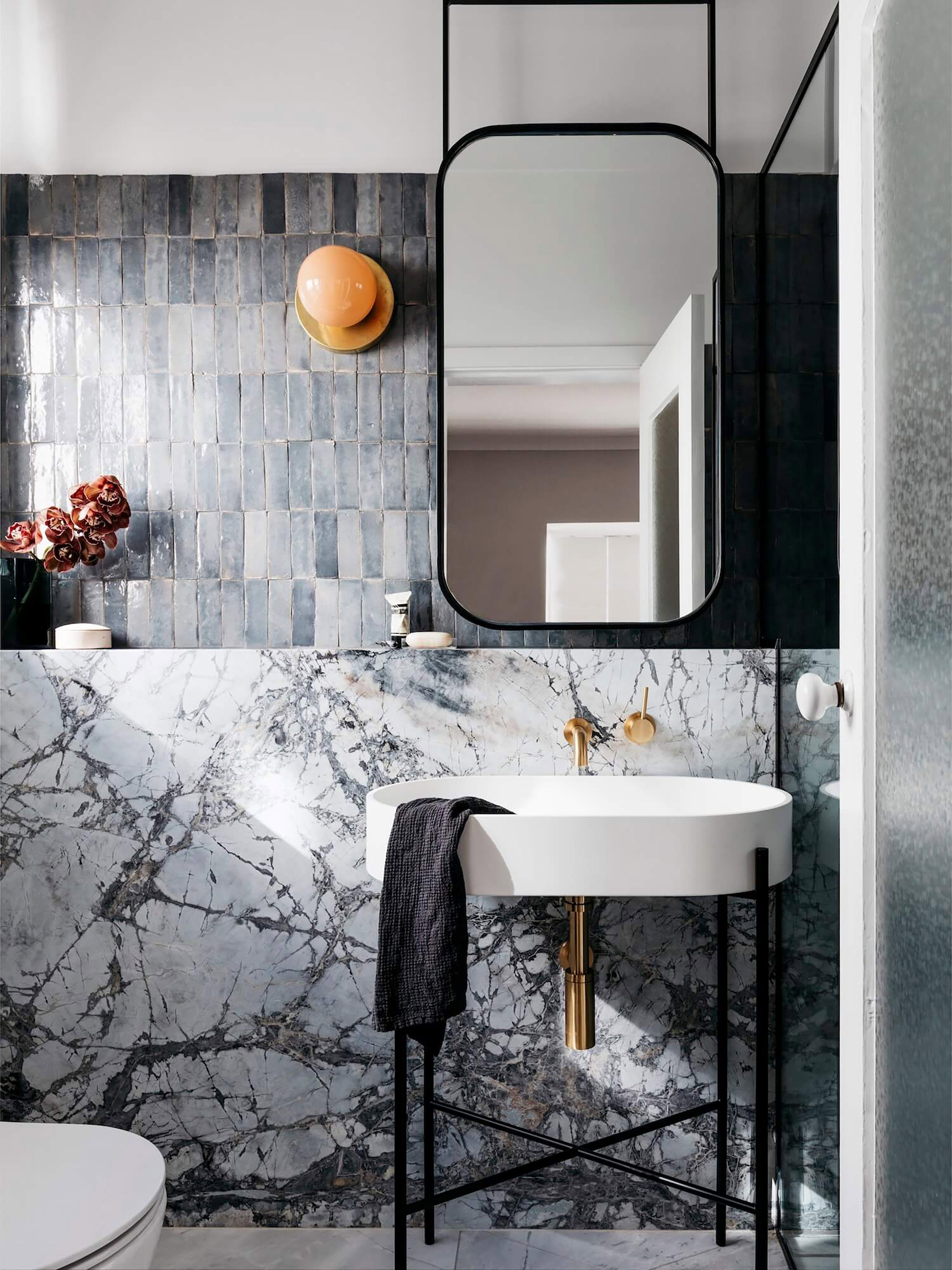 17 Fresh & Inspiring Bathroom Mirror Ideas To Shake Up Your With Regard To Industrial Modern & Contemporary Wall Mirrors (View 1 of 30)