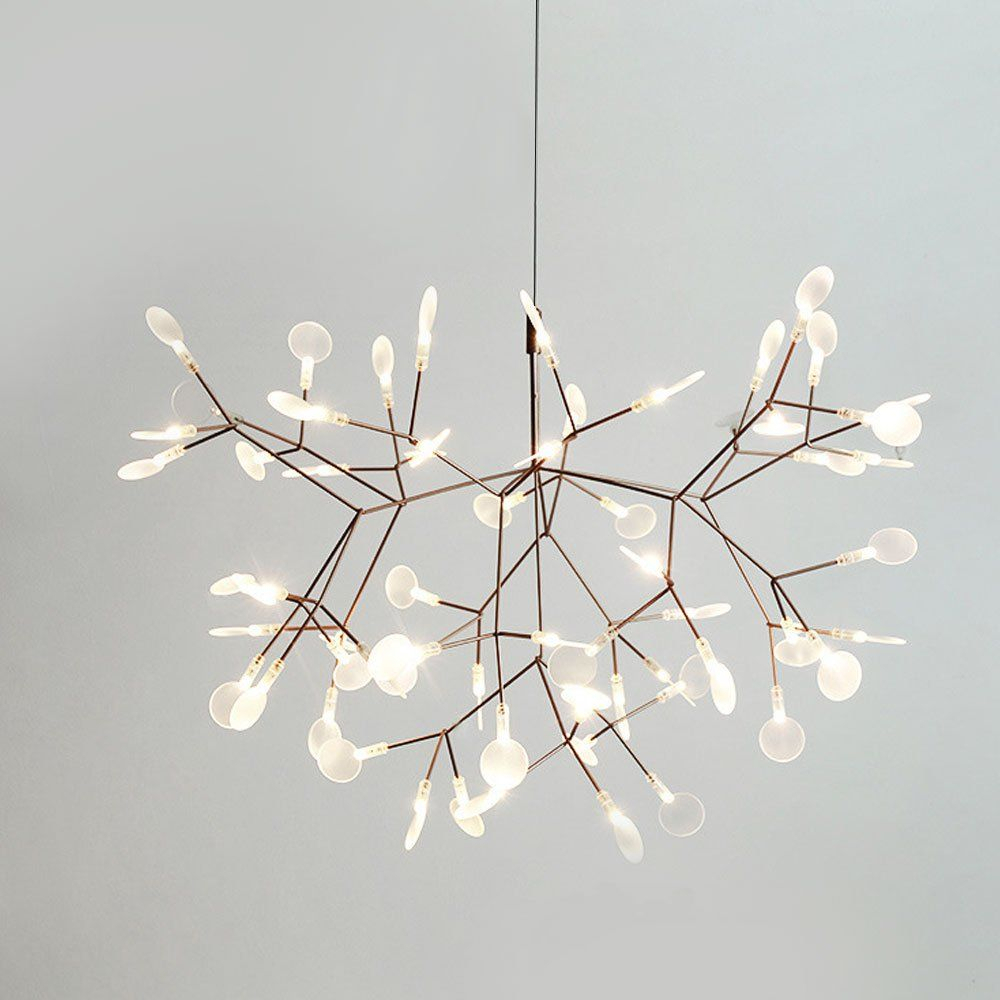 19.7€ Contemporary Simplest Style 30 Light Led Ceiling Pertaining To Everett 10 Light Sputnik Chandeliers (Photo 23 of 30)