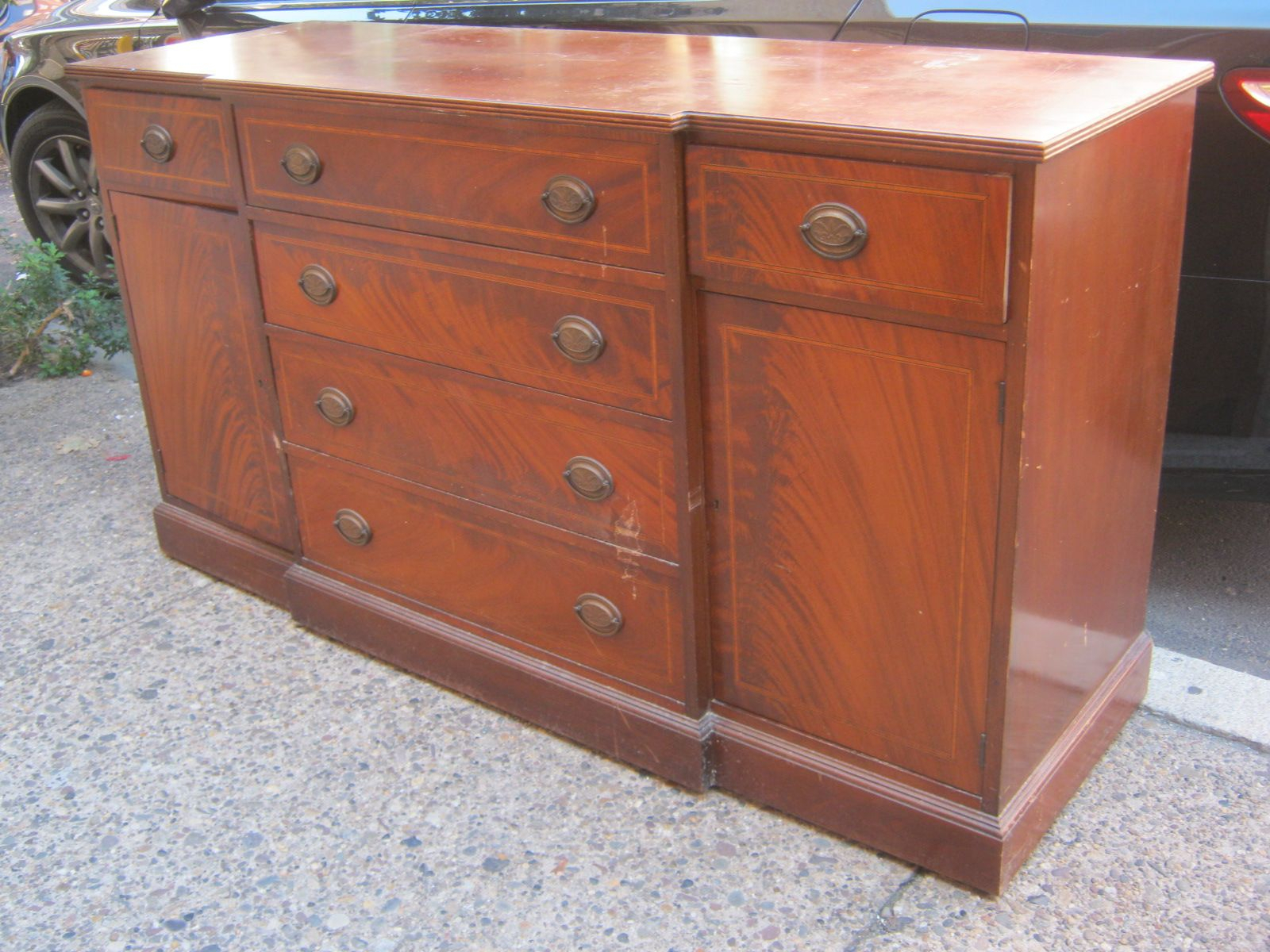1940S Furniture | Mahogany 1940S Sideboard Sold | 1940S Intended For Joyner Sideboards (Image 1 of 30)