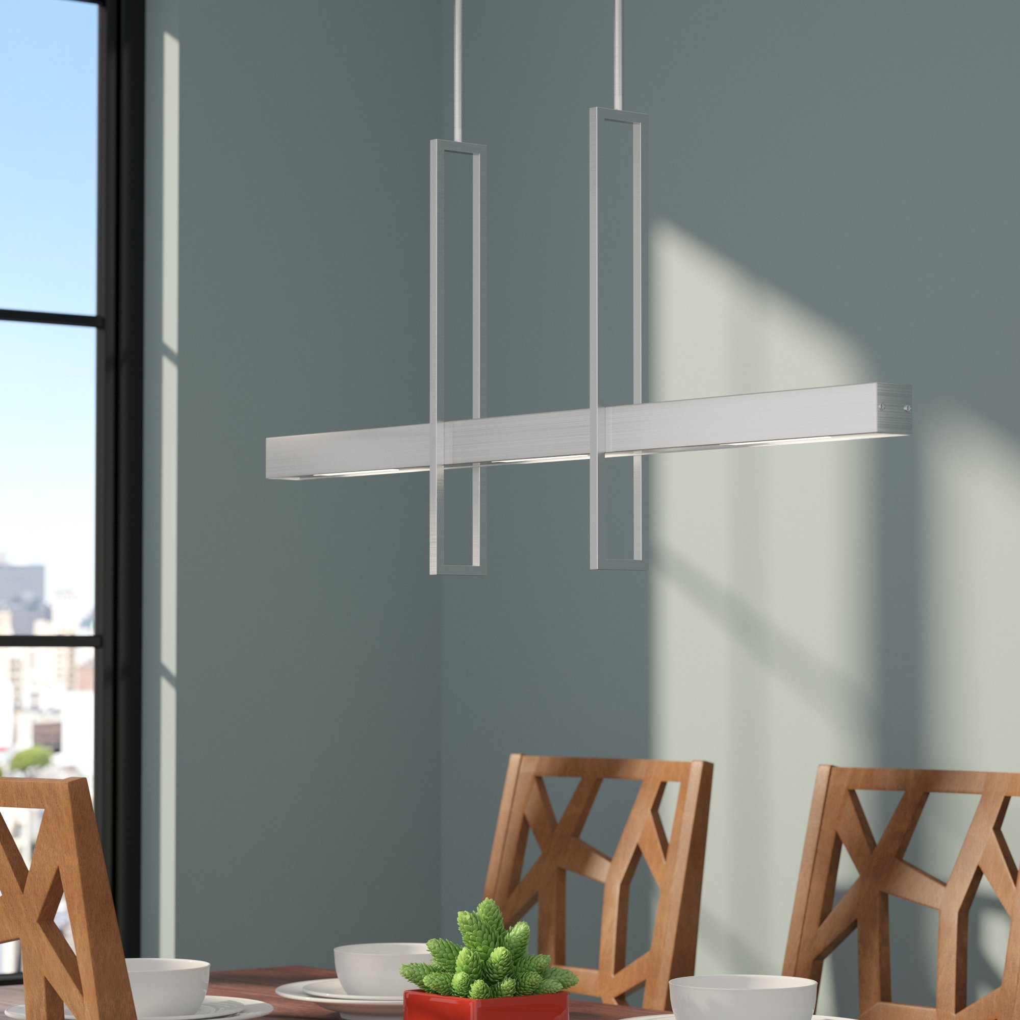 2 Light Kitchen Island Pendant Lighting You'll Love In 2019 With Ariel 2 Light Kitchen Island Dome Pendants (Gallery 24 of 30)