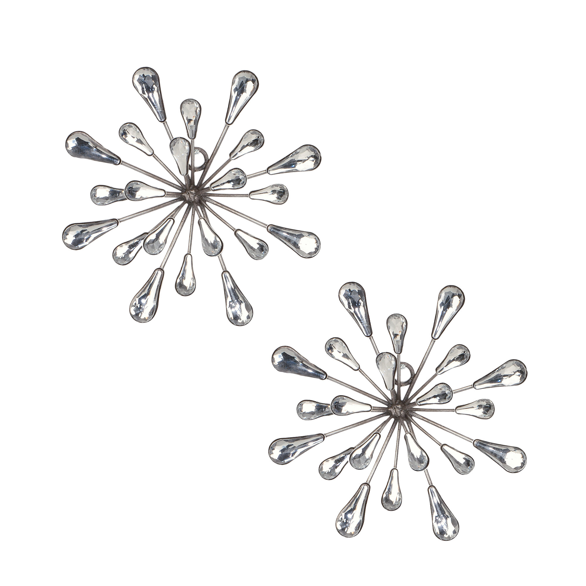 2 Piece Starburst Wall Décor Set inside 2 Piece Starburst Wall Decor Sets (Image 2 of 30)