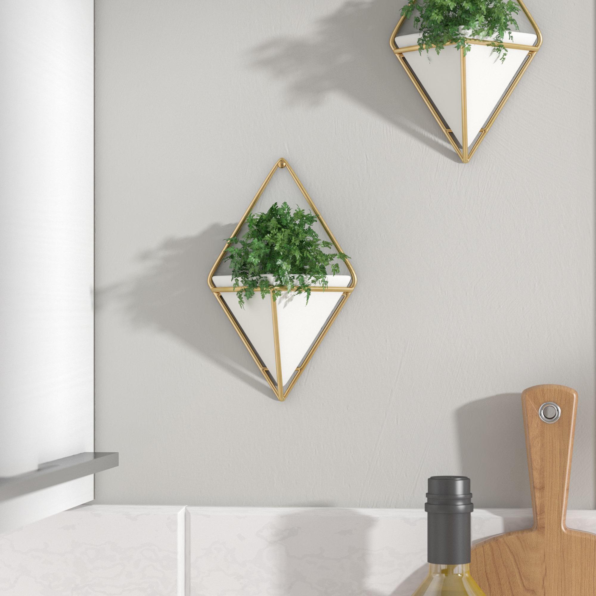 2 Piece Trigg Wall Décor Set With Trigg Ceramic Planter Wall Decor (Gallery 14 of 30)