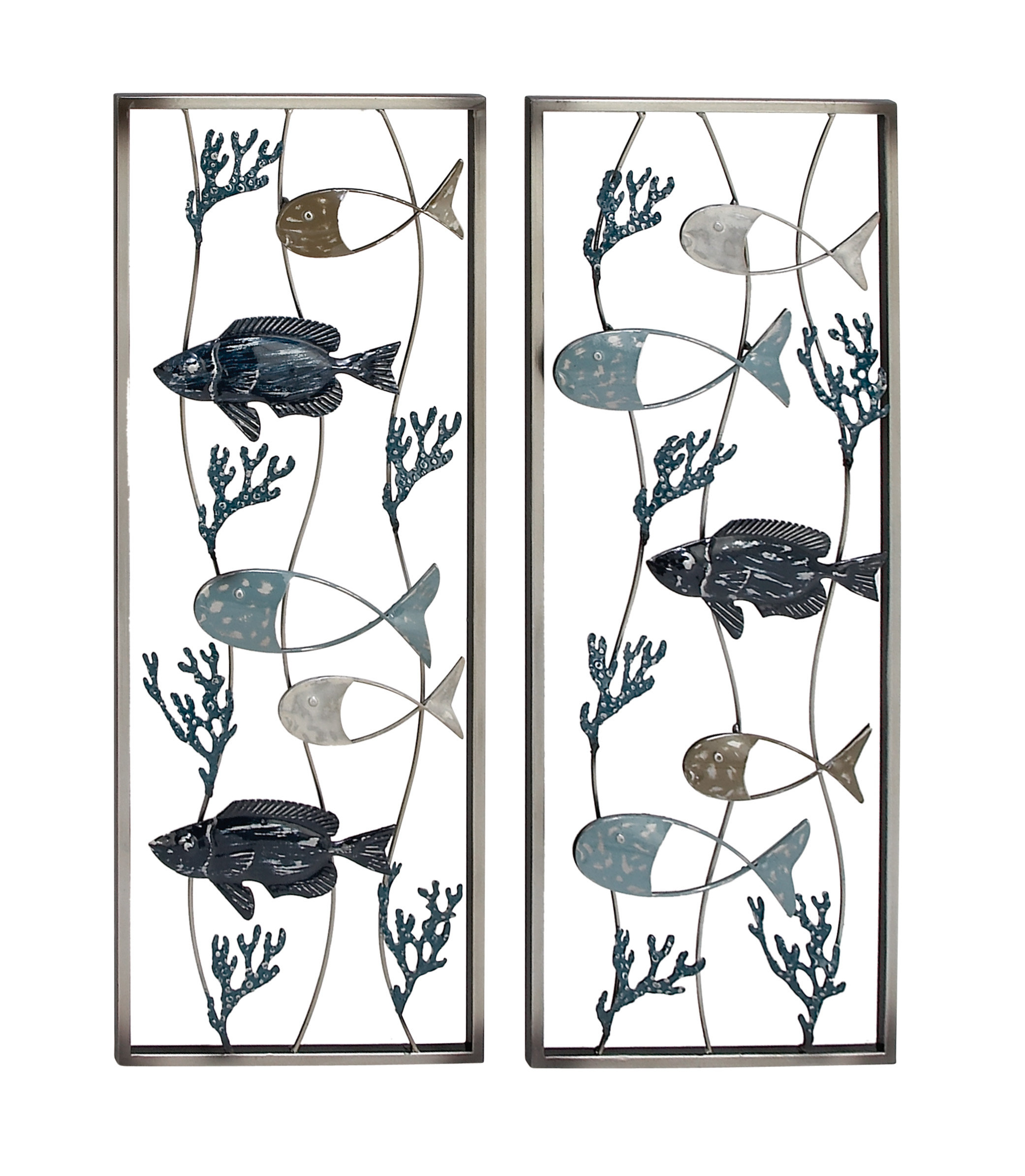 2 Piece Wall Decor Set | Wayfair For 2 Piece Starburst Wall Decor Sets (Gallery 4 of 30)